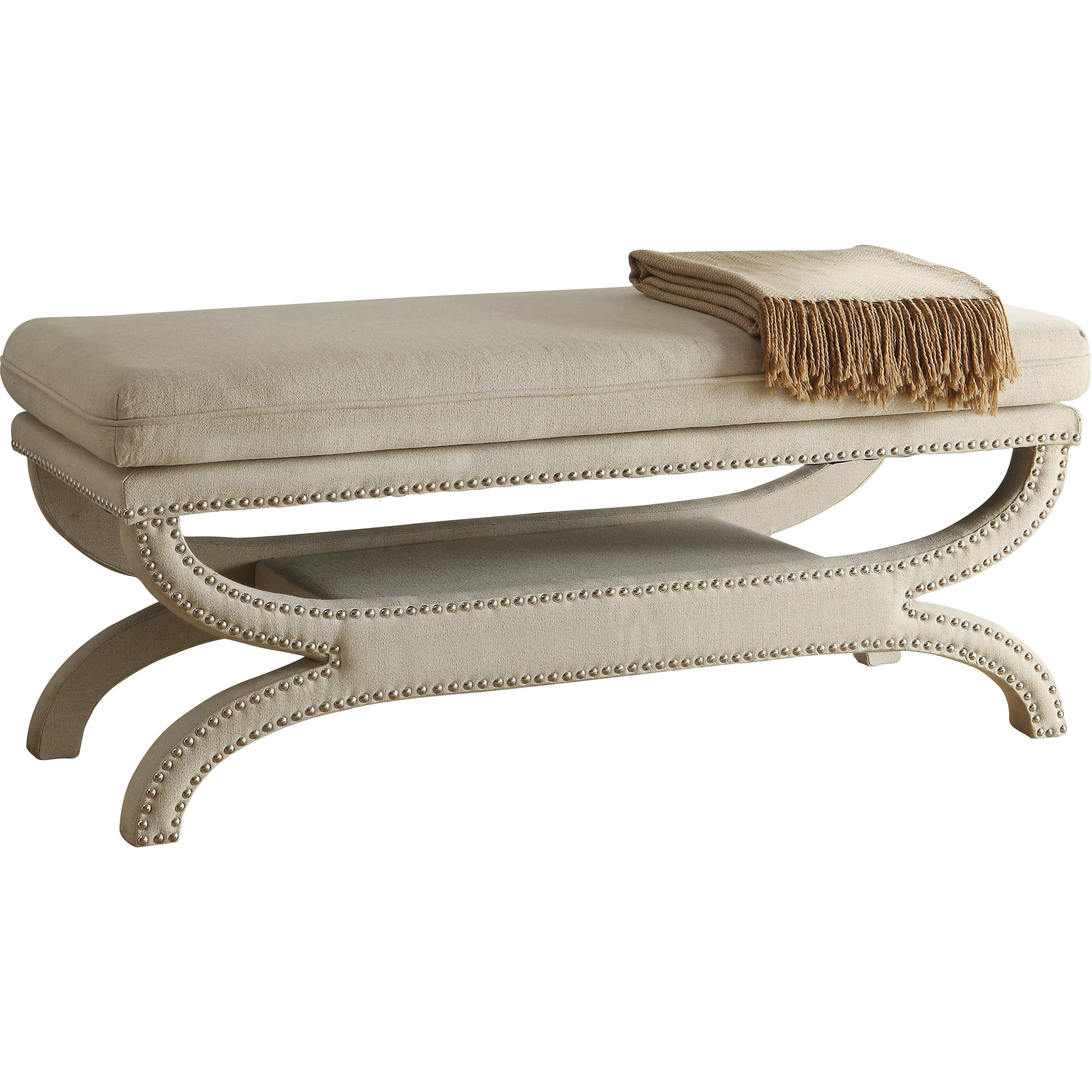 Wildon Home Upholstered Storage Bedroom Bench: Wildon Home ® Upholstered Bedroom Bench & Reviews