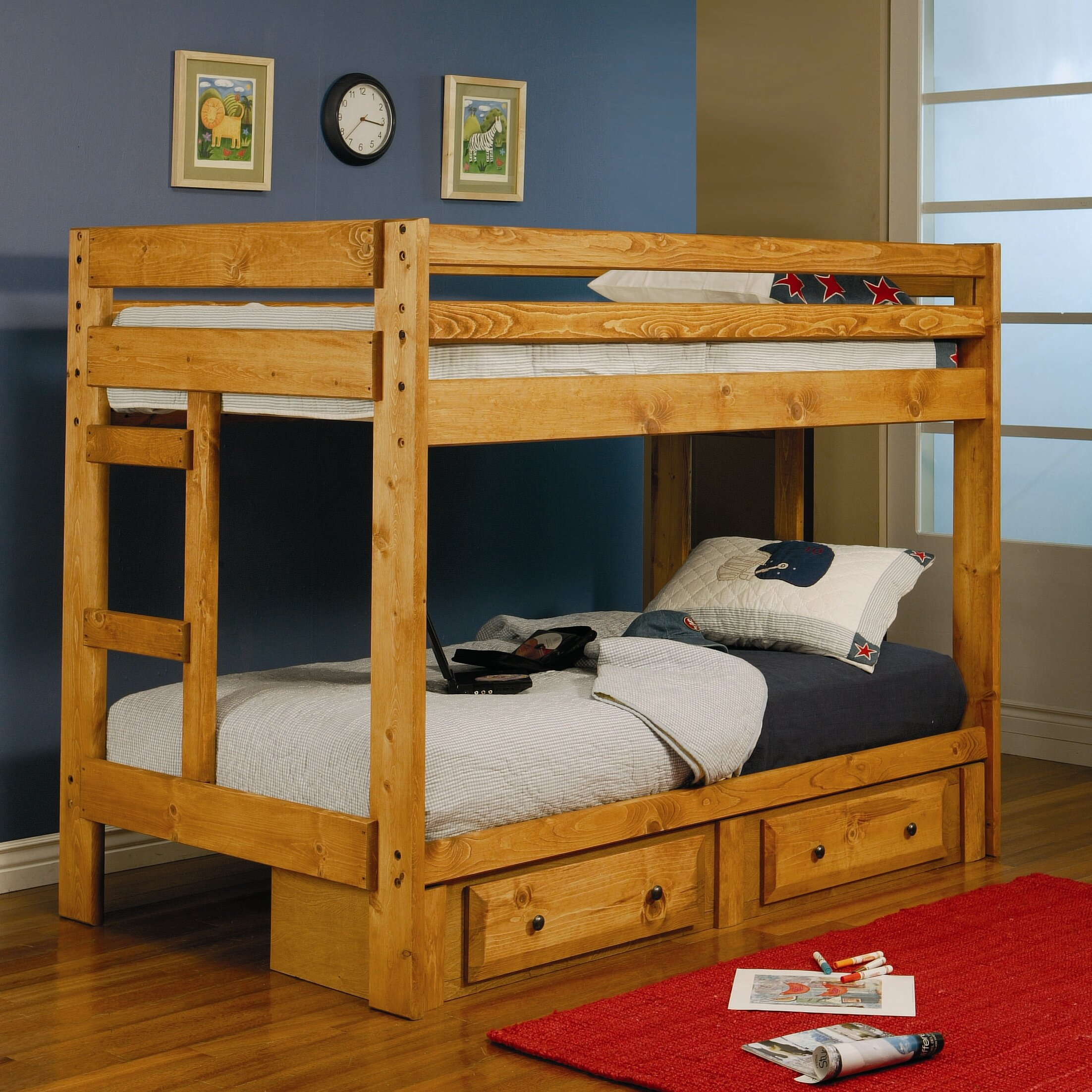 Wildon Home Navarro Twin Bunk Bed Reviews