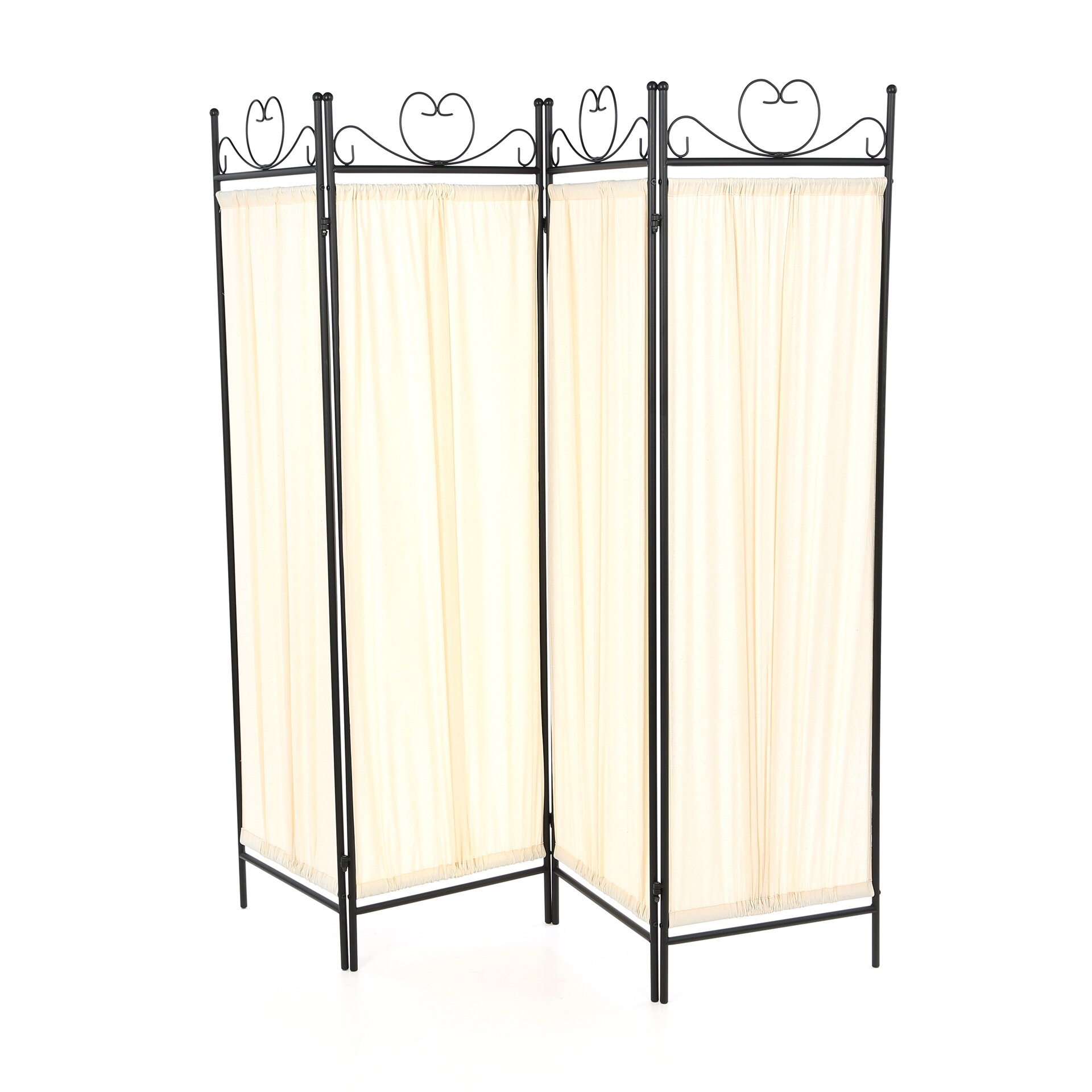 Wildon home 69 port angeles butterfly decor folding 4 for Four panel room divider screen