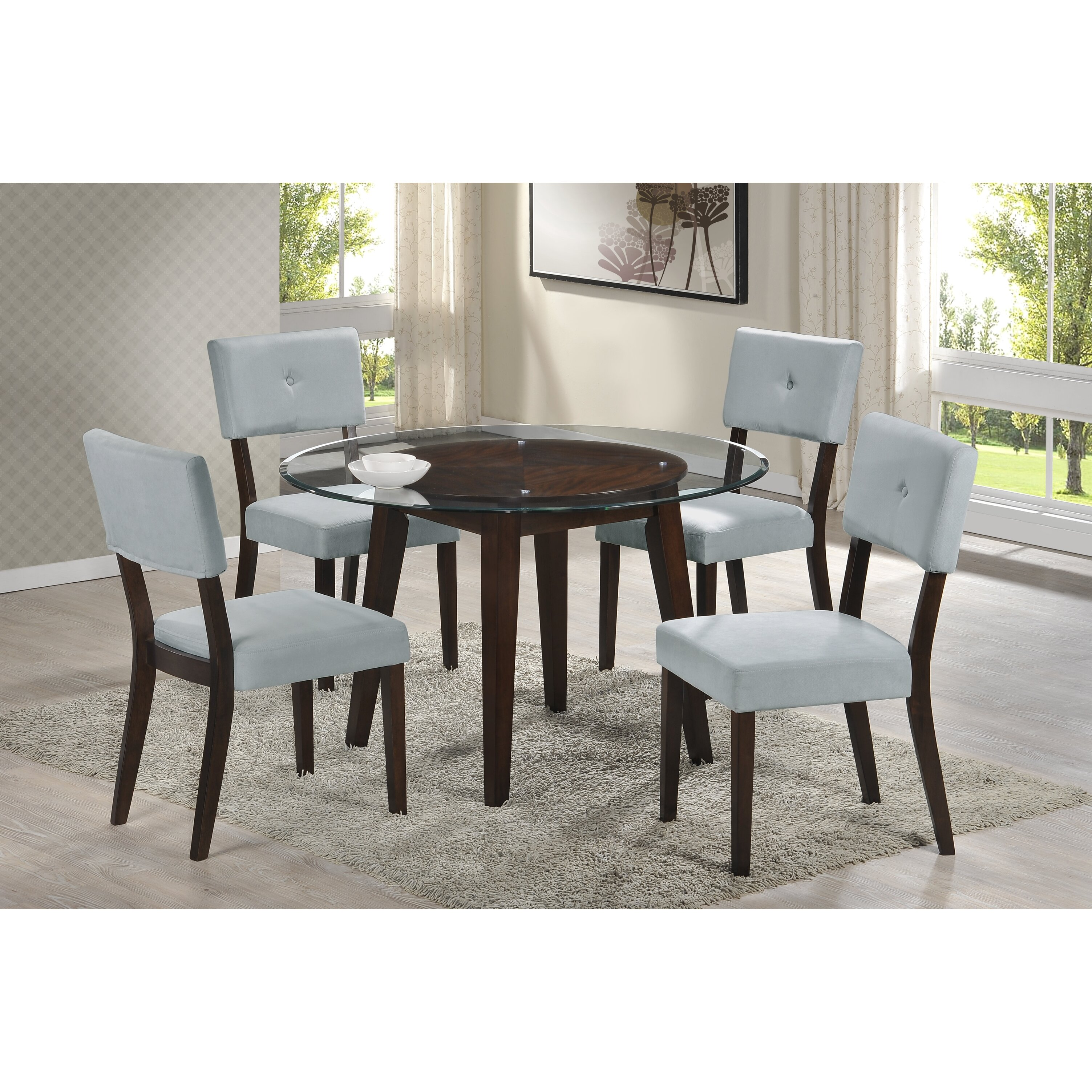 Wildon Home Wegman 5 Piece Dining Set Reviews Wayfair