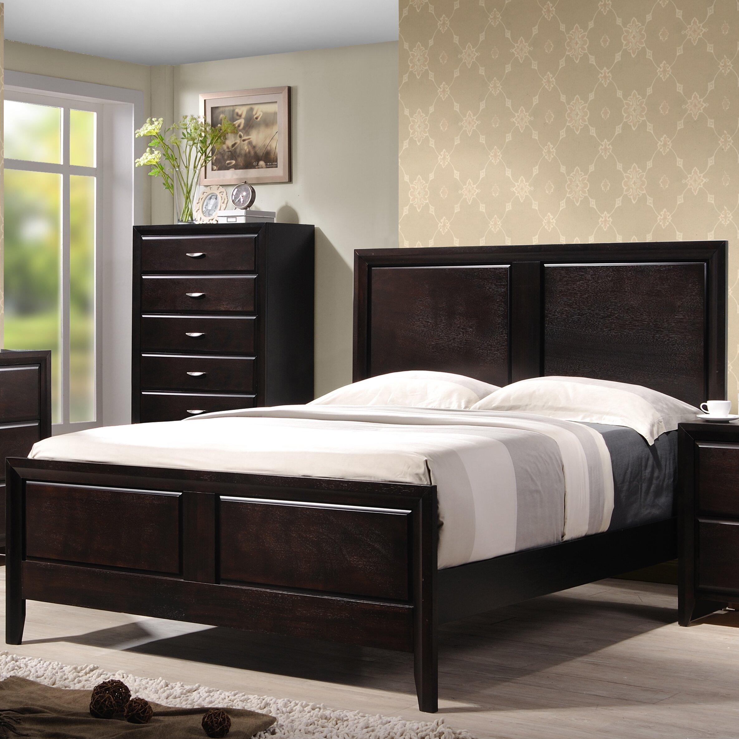 Wildon Home Adele Panel Customizable Bedroom Set Reviews Wayfair