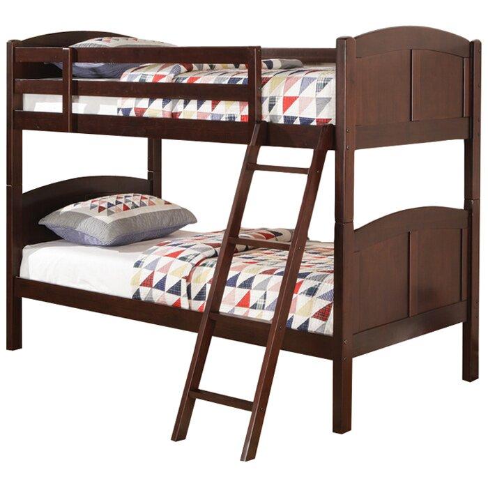 Wildon Home Oberon Twin Bunk Bed Reviews Wayfair