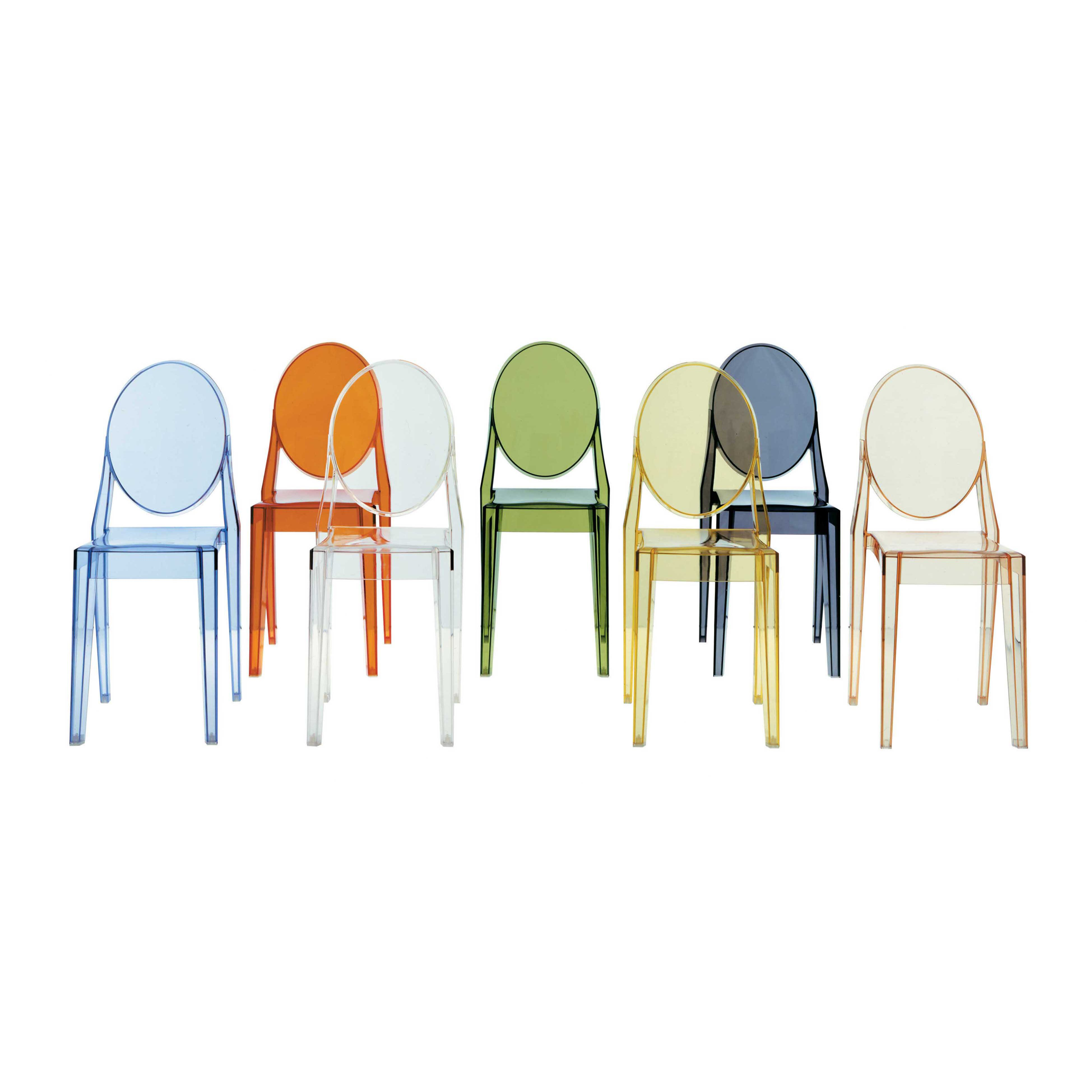 Kartell victoria ghost chair reviews wayfair for Chaise de table design