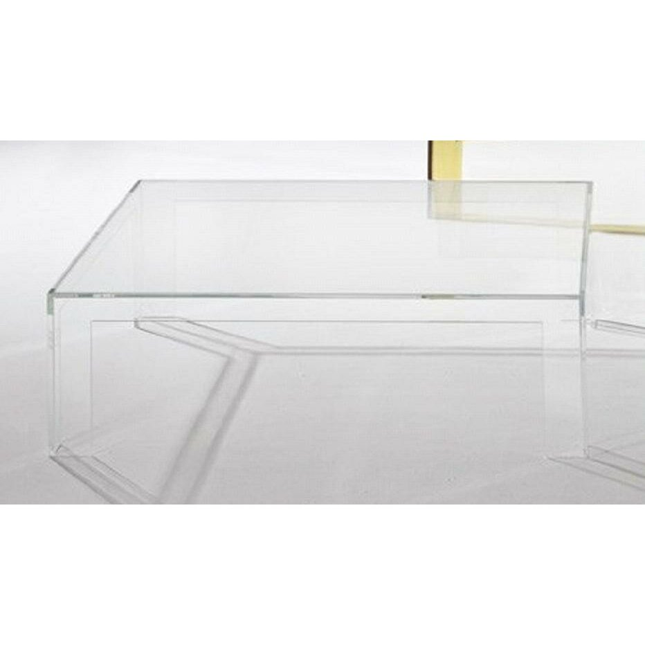 Kartell invisible table reviews wayfair for Table kartell