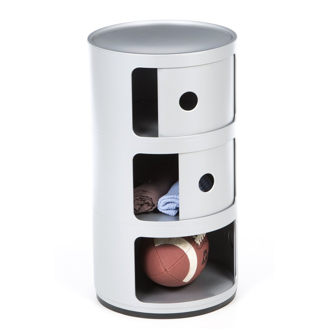 Kartell Componibili Round Storage Module Amp Reviews Wayfair