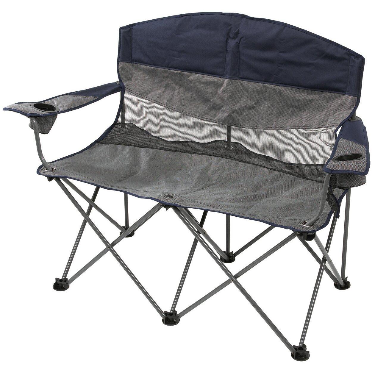 Stansport Apex Double Chair Amp Reviews Wayfair