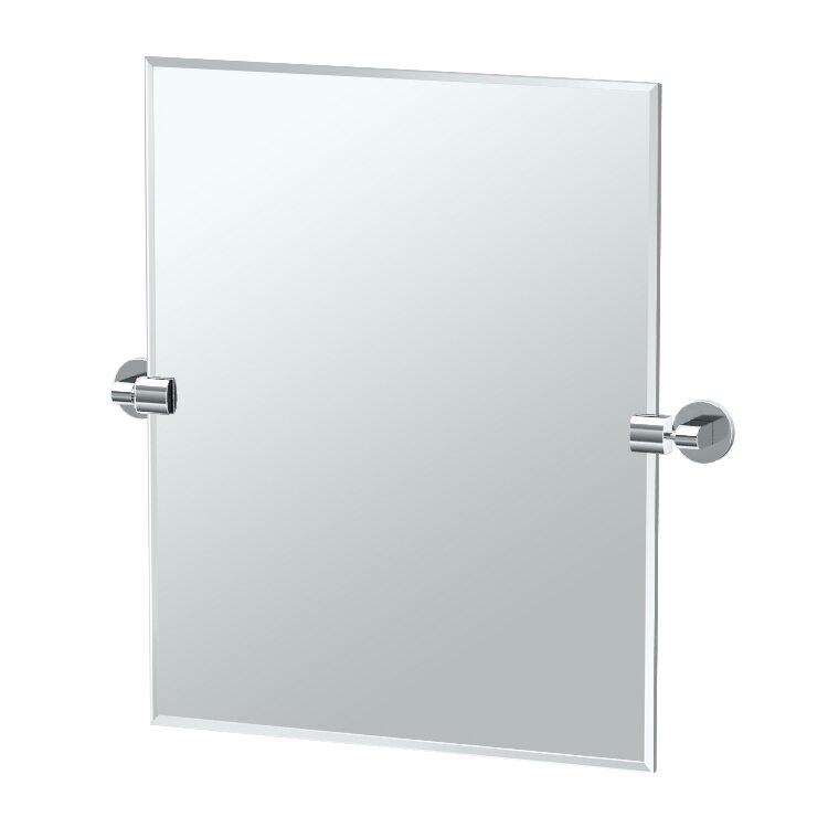 Gatco zone mirror reviews wayfair for Zone bathroom accessories