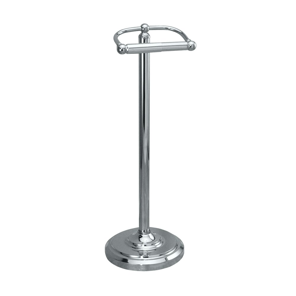 Gatco bath accessories free standing toilet paper holder Toilet paper holder free standing