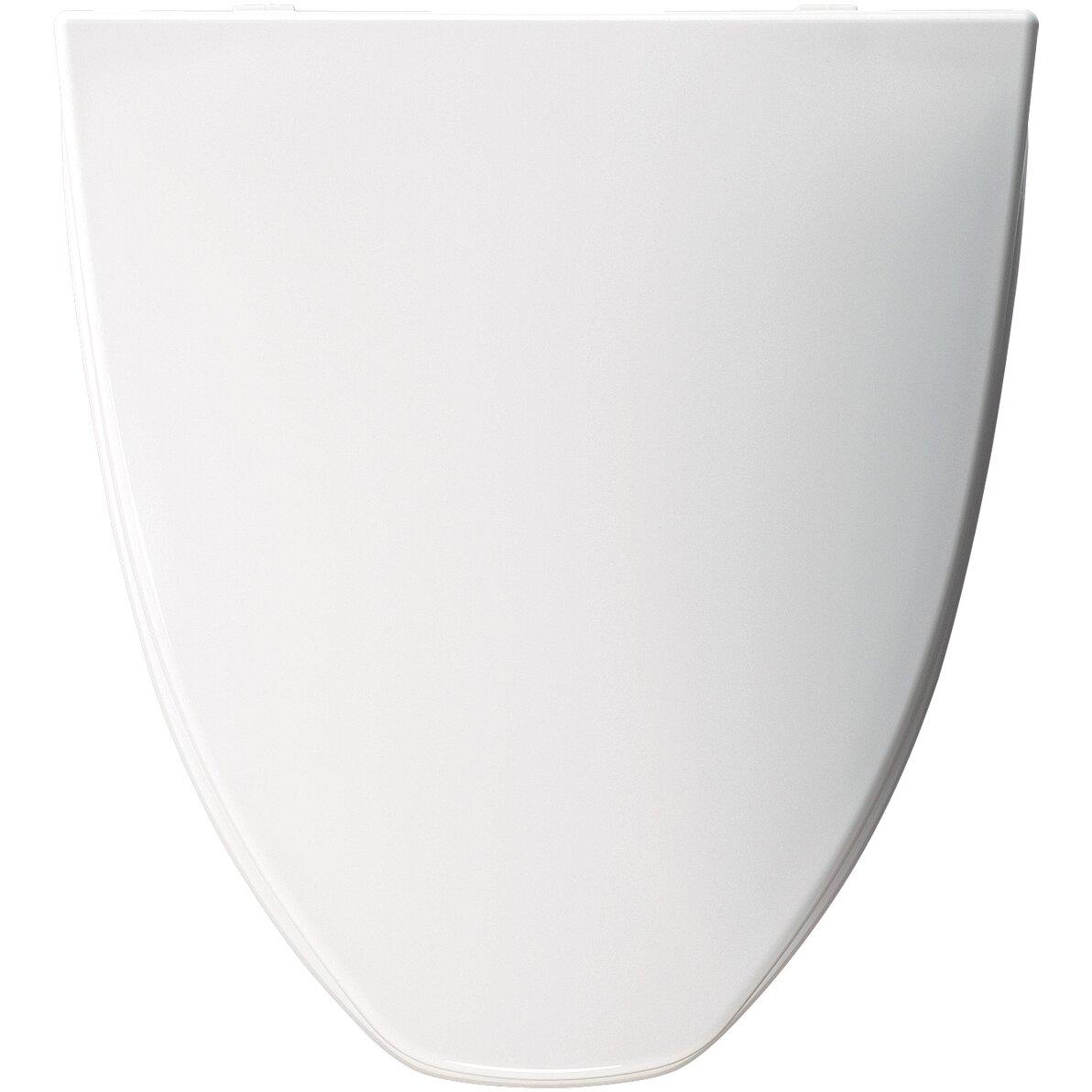 Bemis American Standard Molded Solid Plastic Elongated