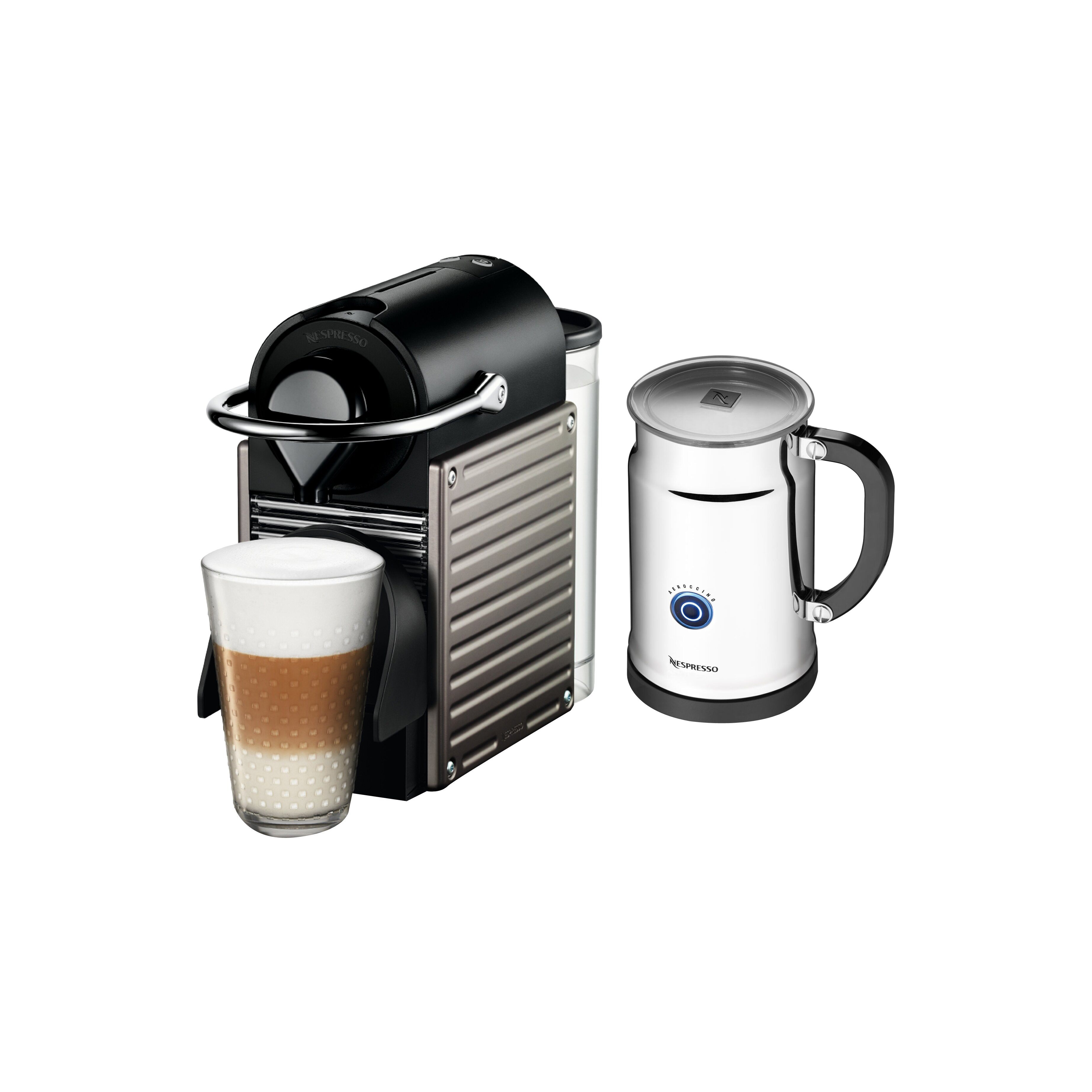 espresso and milk frother machine