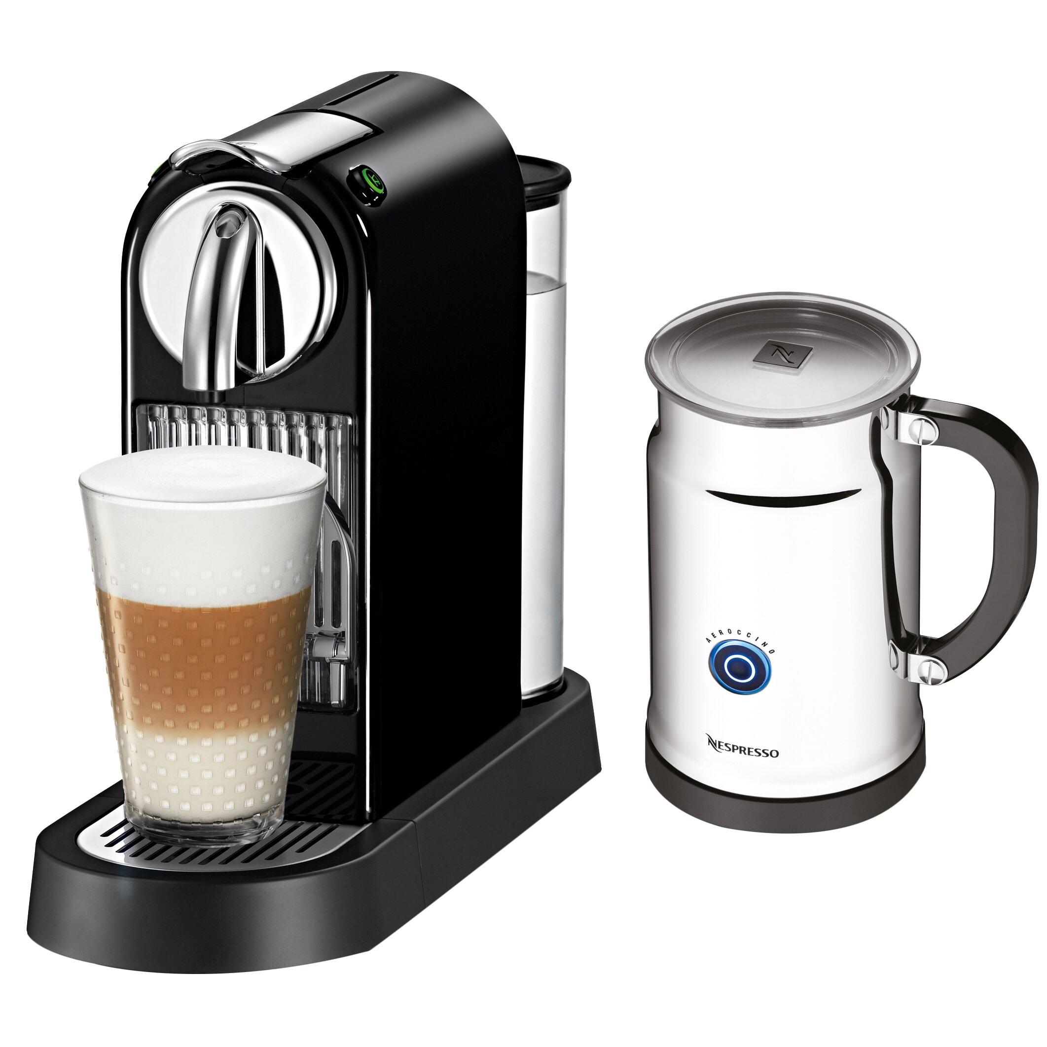 Nespresso Coffee Maker ~ Nespresso citiz espresso maker with aeroccino milk