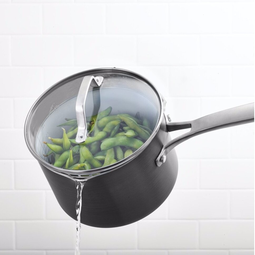 Calphalon Classic Ceramic Saucepan With Lid Wayfair