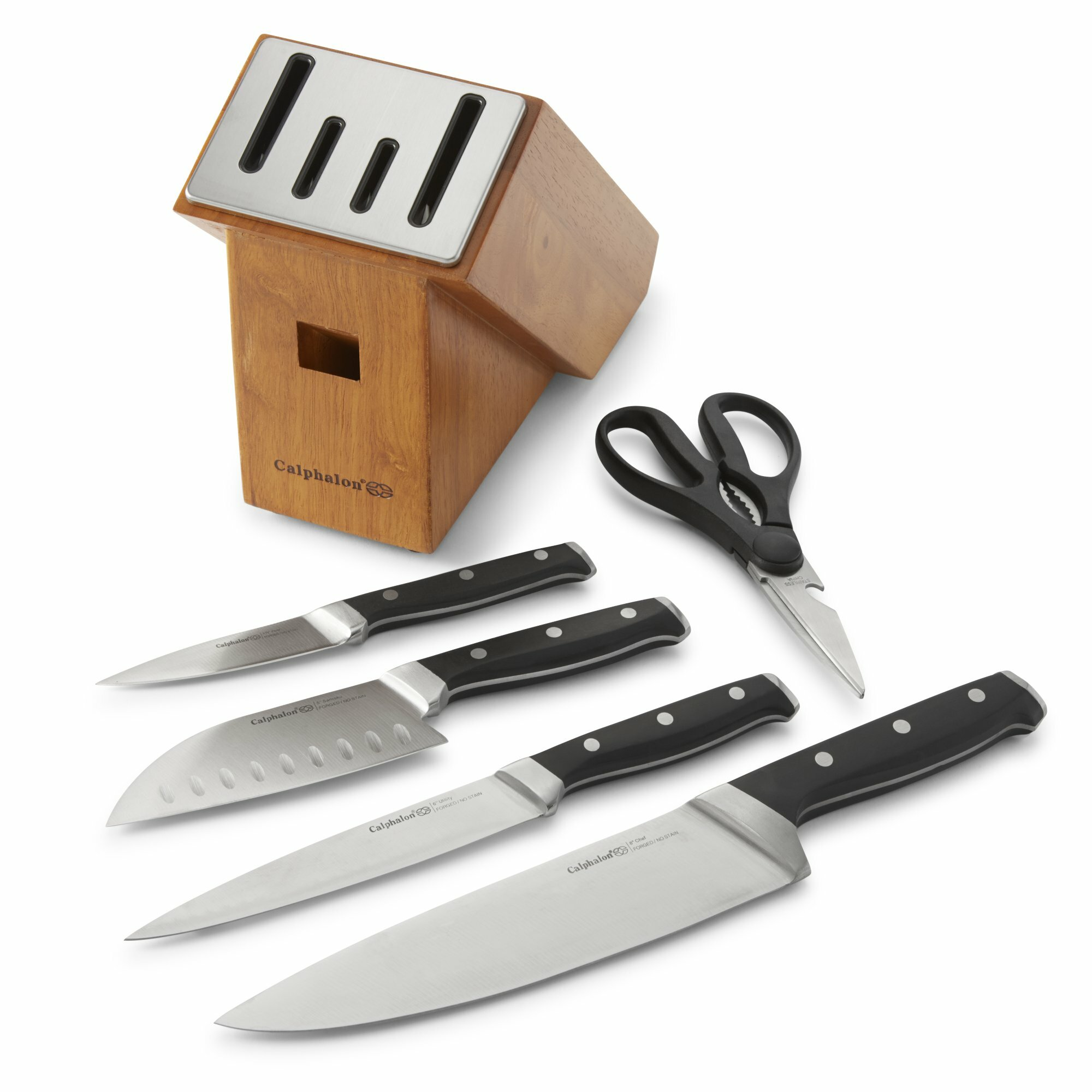 Calphalon Classic SharpIN 6 Piece Self Sharpening Knife Set & Reviews