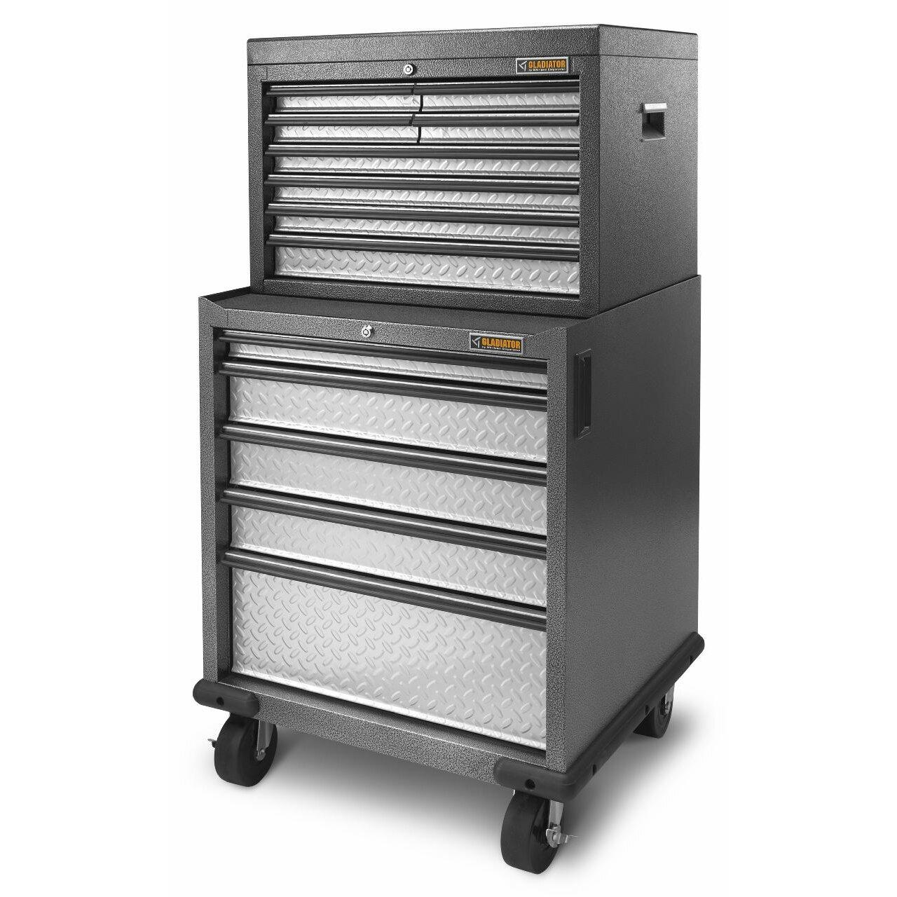 Gladiator premier series pre assembled 35 h x 28 w x 25 for Premier garage cabinets