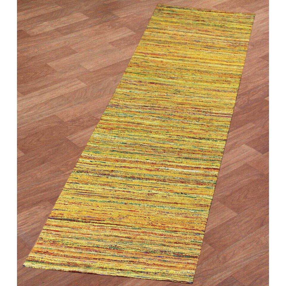 St Croix Sari Silk Handmade Yellow Area Rug Wayfair