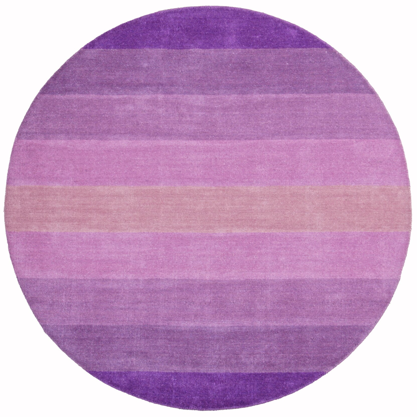 Purple Rug: St. Croix Aspect Purple Stripes Area Rug & Reviews