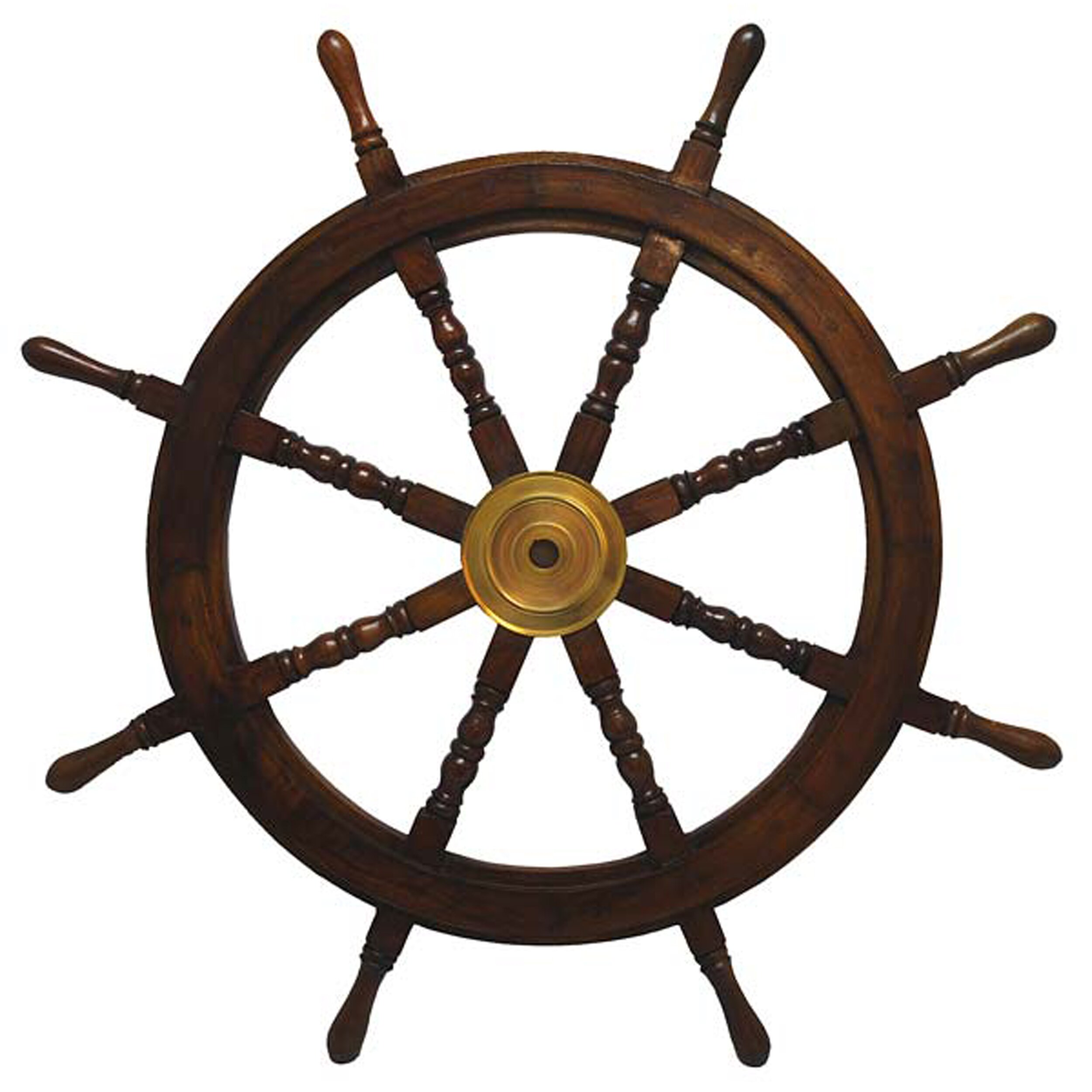 Nautical Wheel Decor: St. Croix Ships Wheel Wall Décor & Reviews