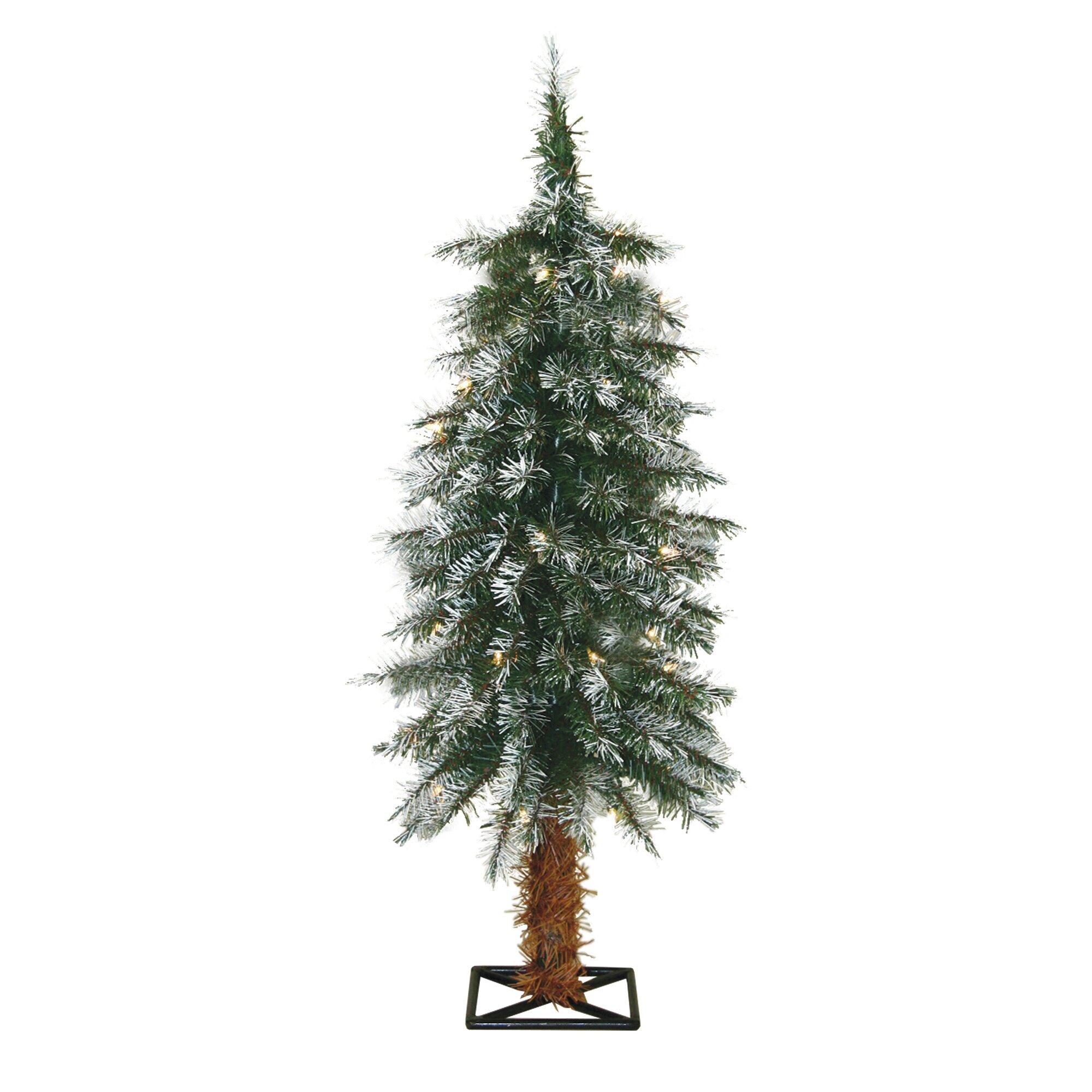 General Foam Plastics 3' Frosted Alpine Christmas Tree ...