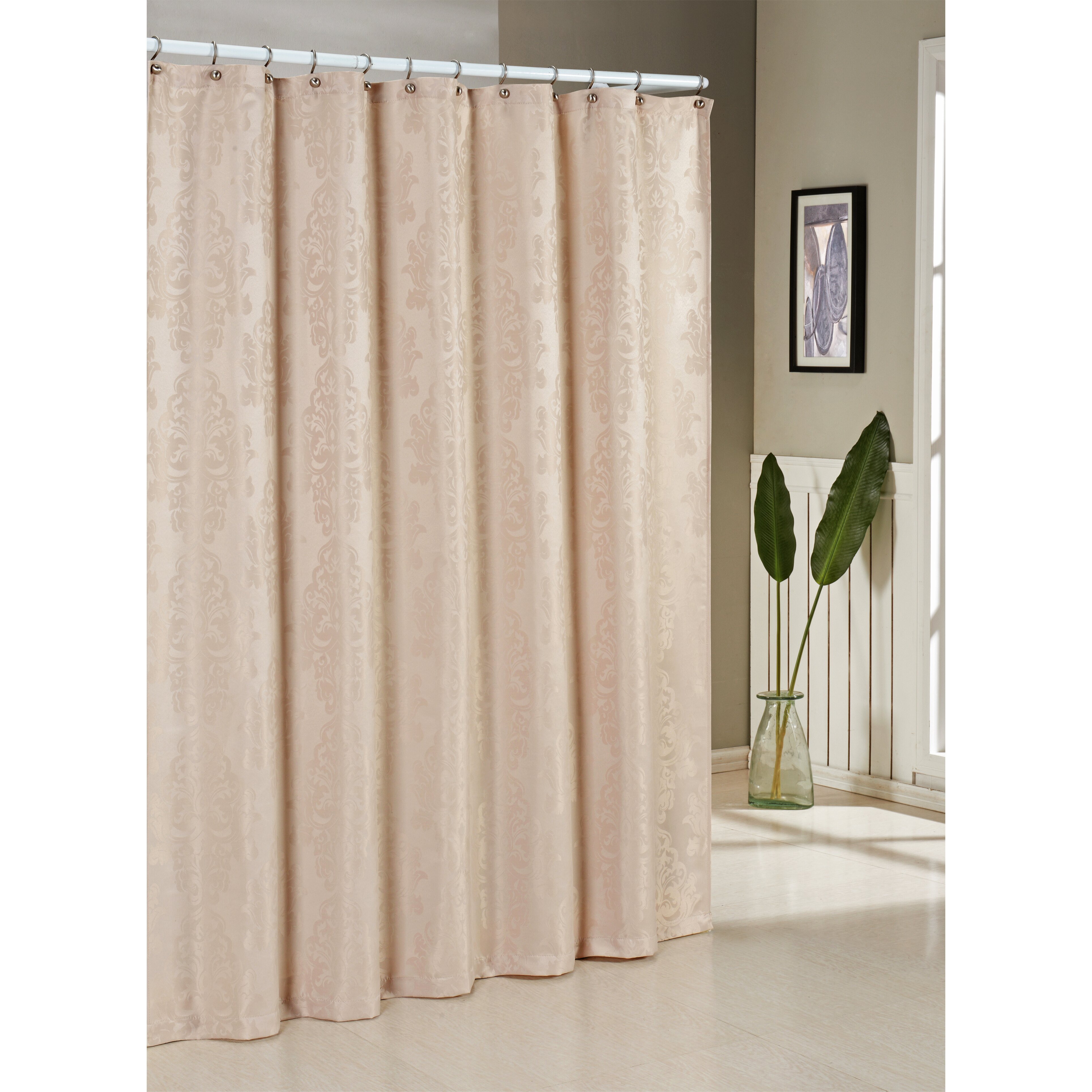 dr international parson jacquard shower curtain reviews wayfair