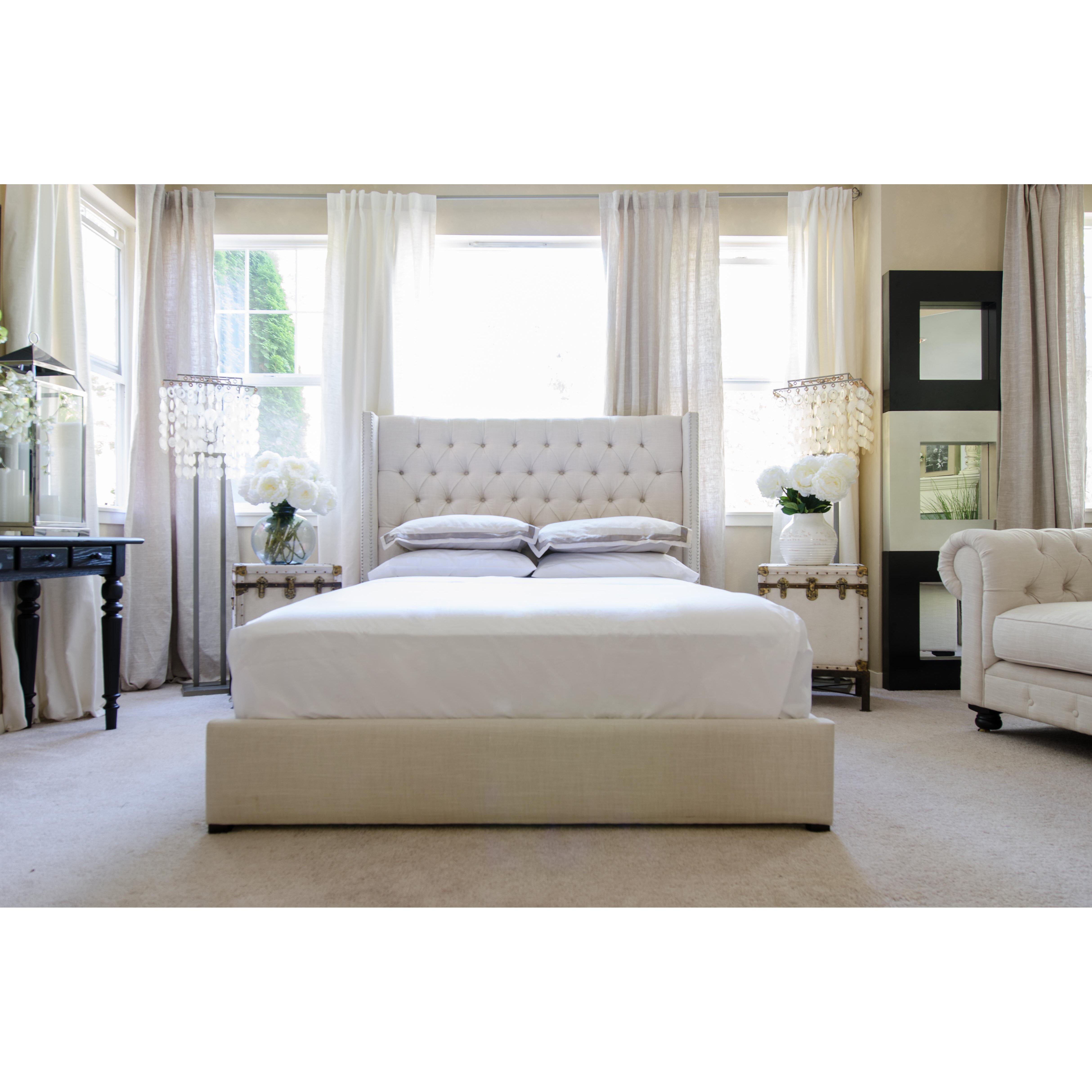 Elements Fine Home Furnishings Upholstered Platform Bed Reviews Wayfair