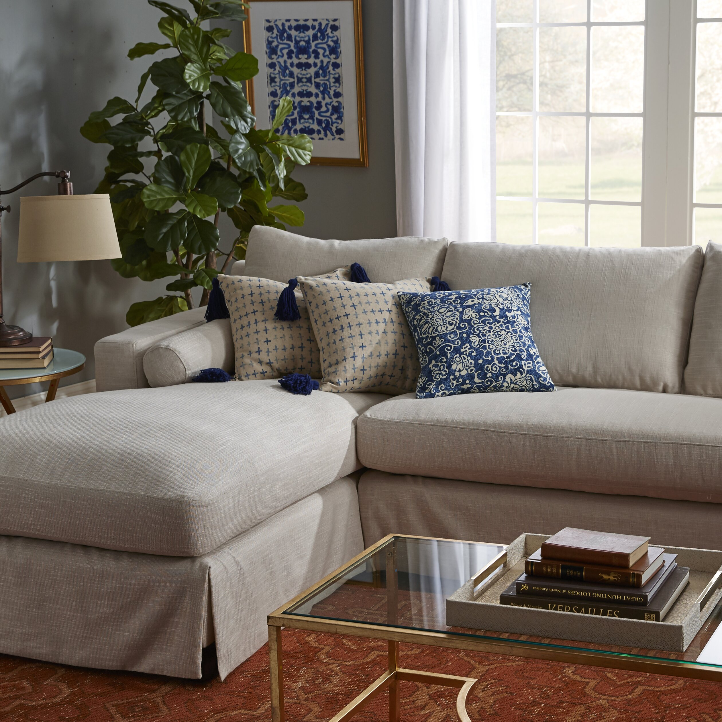 Home Element Furniture: Elements Fine Home Furnishings Haley Sectional & Reviews