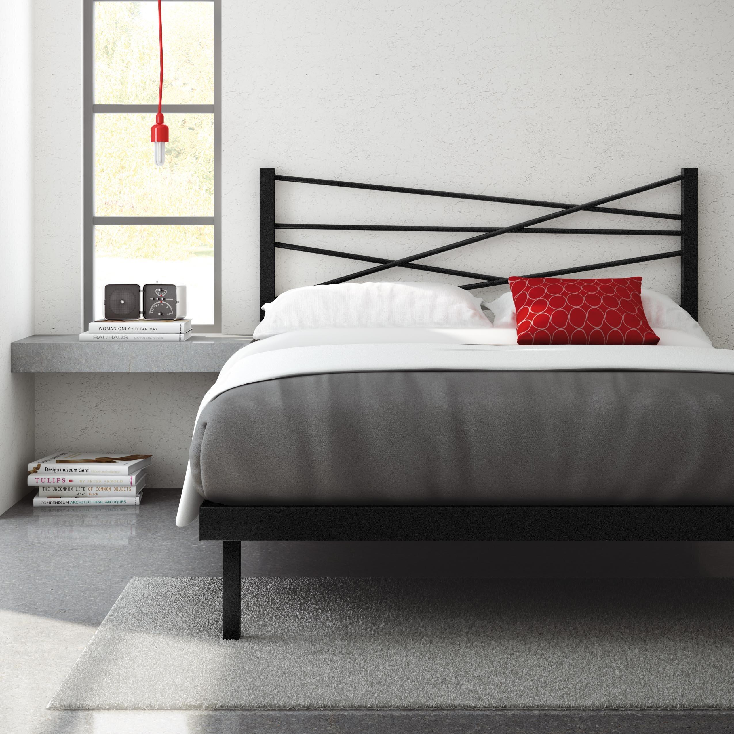 Amisco Crosston Platform Bed Reviews Wayfair