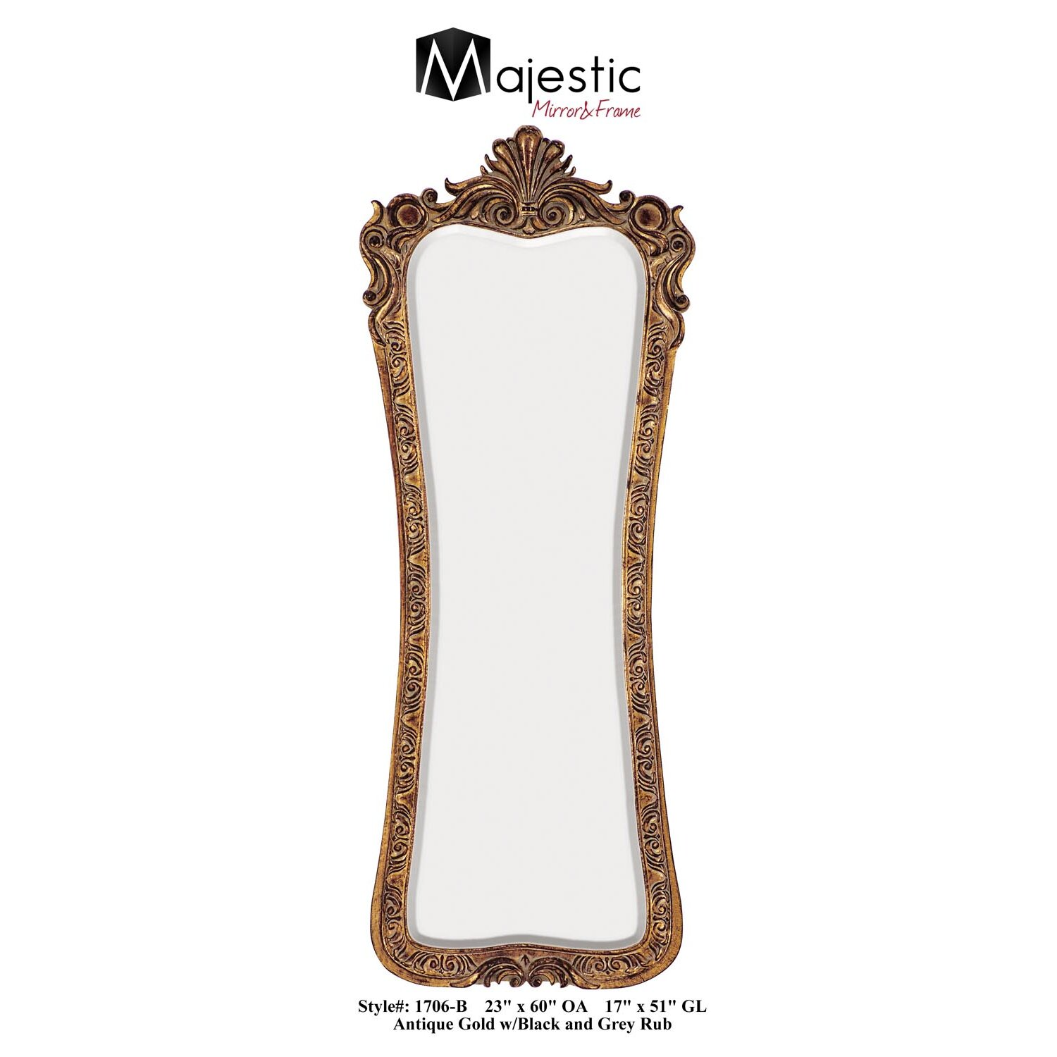Astoria grand traditional bevel wall mirror reviews for Traditional mirror