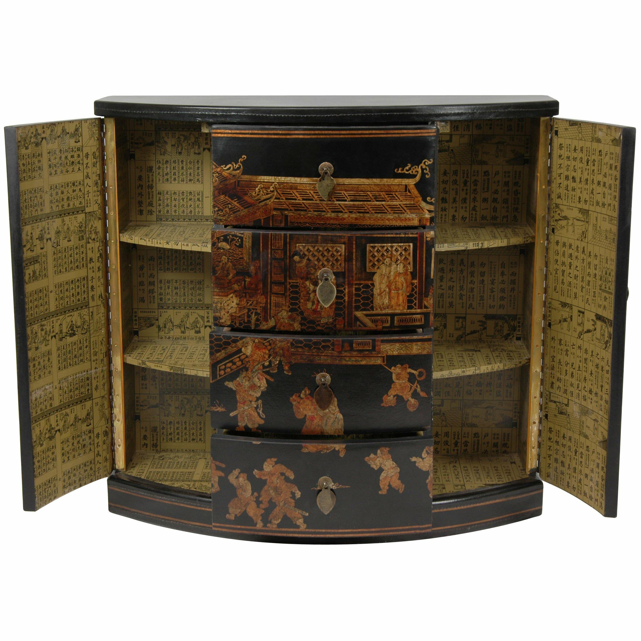 Oriental furniture hallway 4 drawer cabinet reviews for Oriental furniture