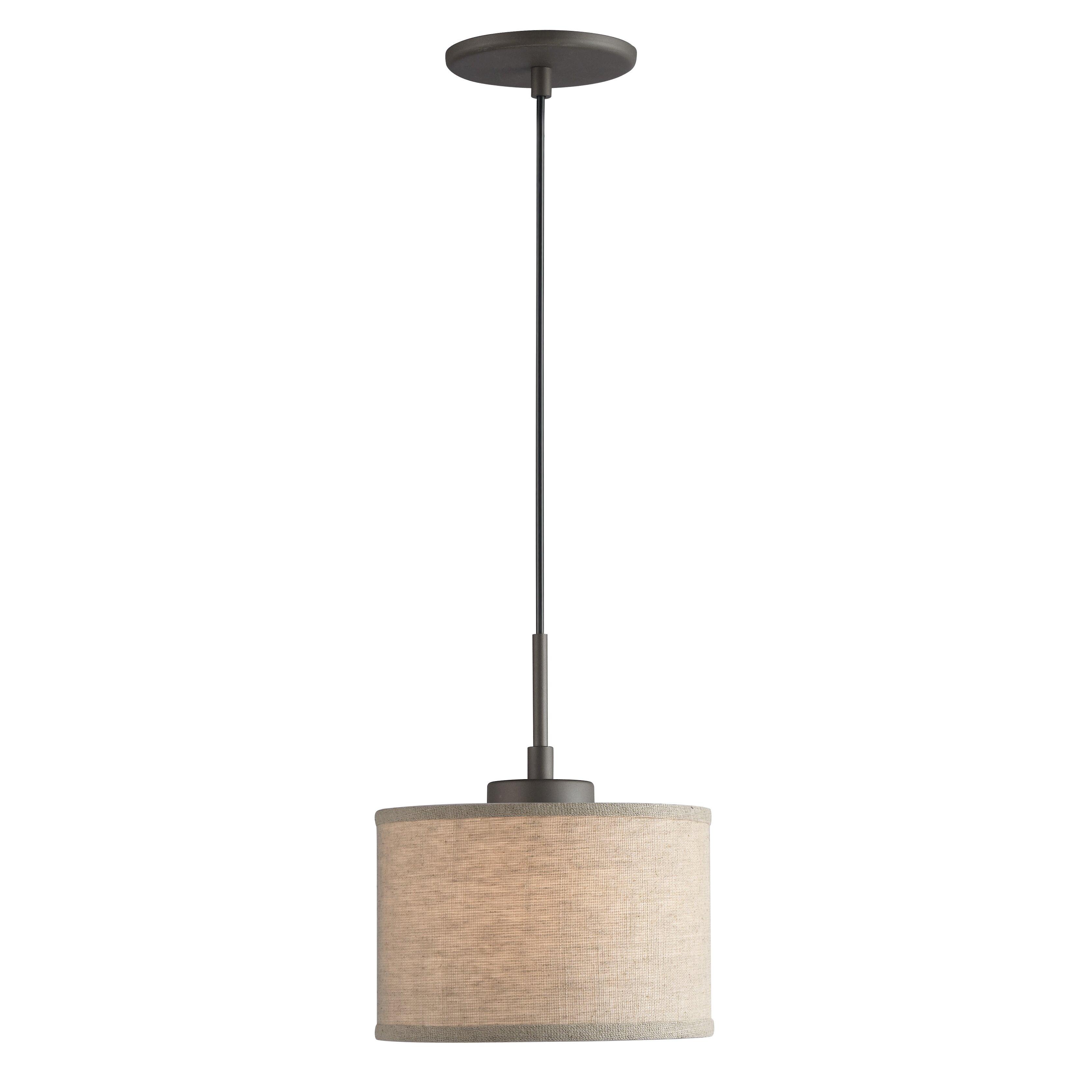 woodbridge ceiling cluster 1 light mini drum pendant