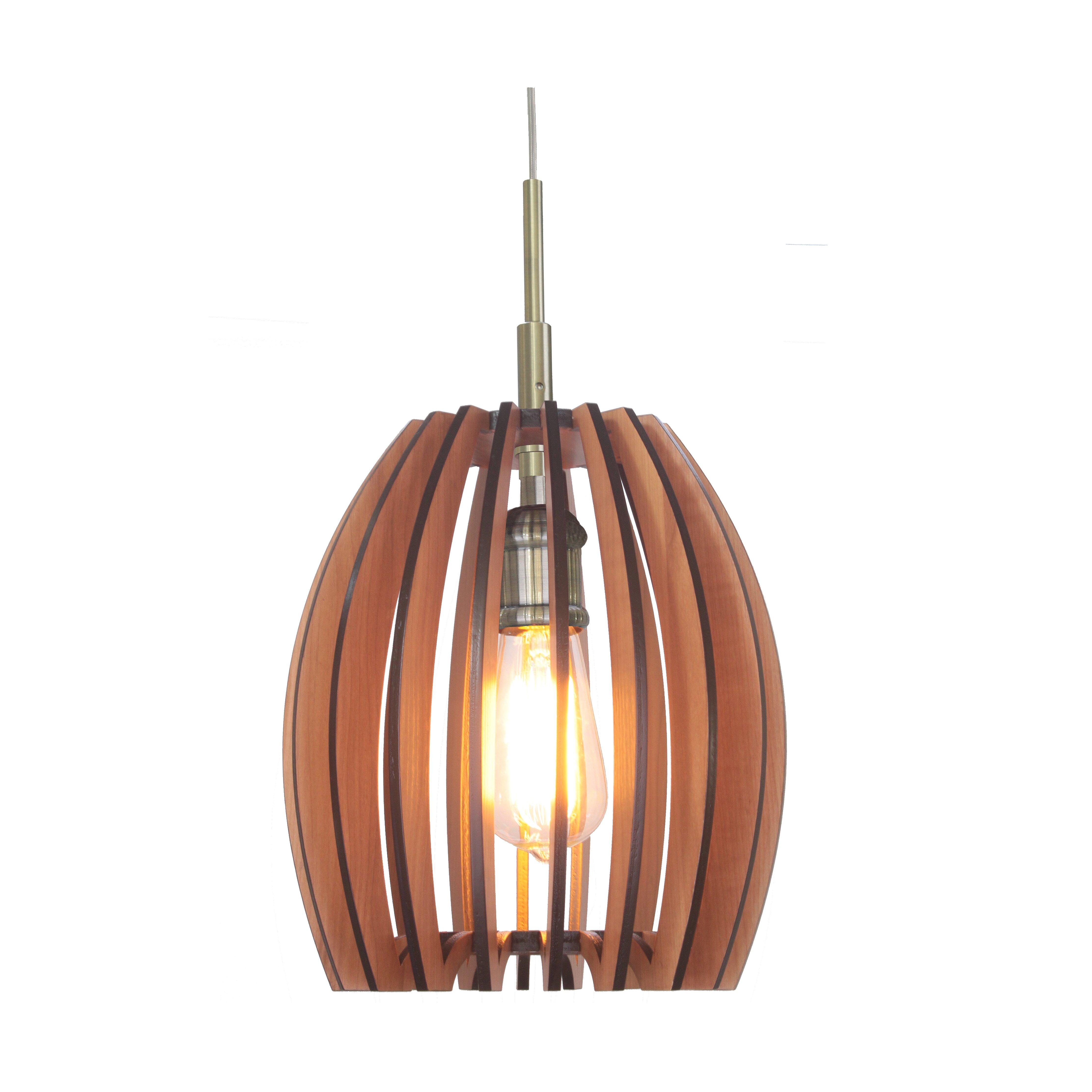 Woodbridge Canopy 1 Light Mini Pendant & Reviews