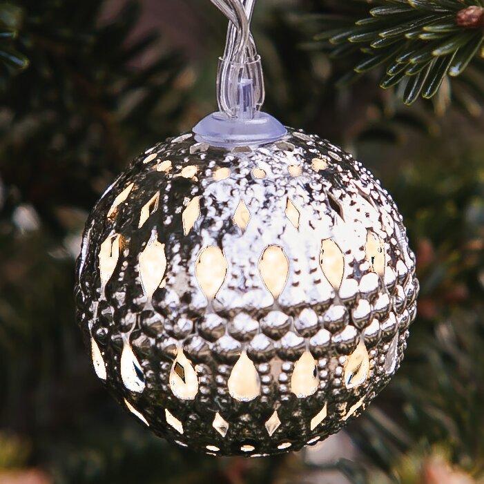Patriotic Globe String Lights : Evergreen Flag & Garden Solar 12-Light Globe String Lights & Reviews Wayfair