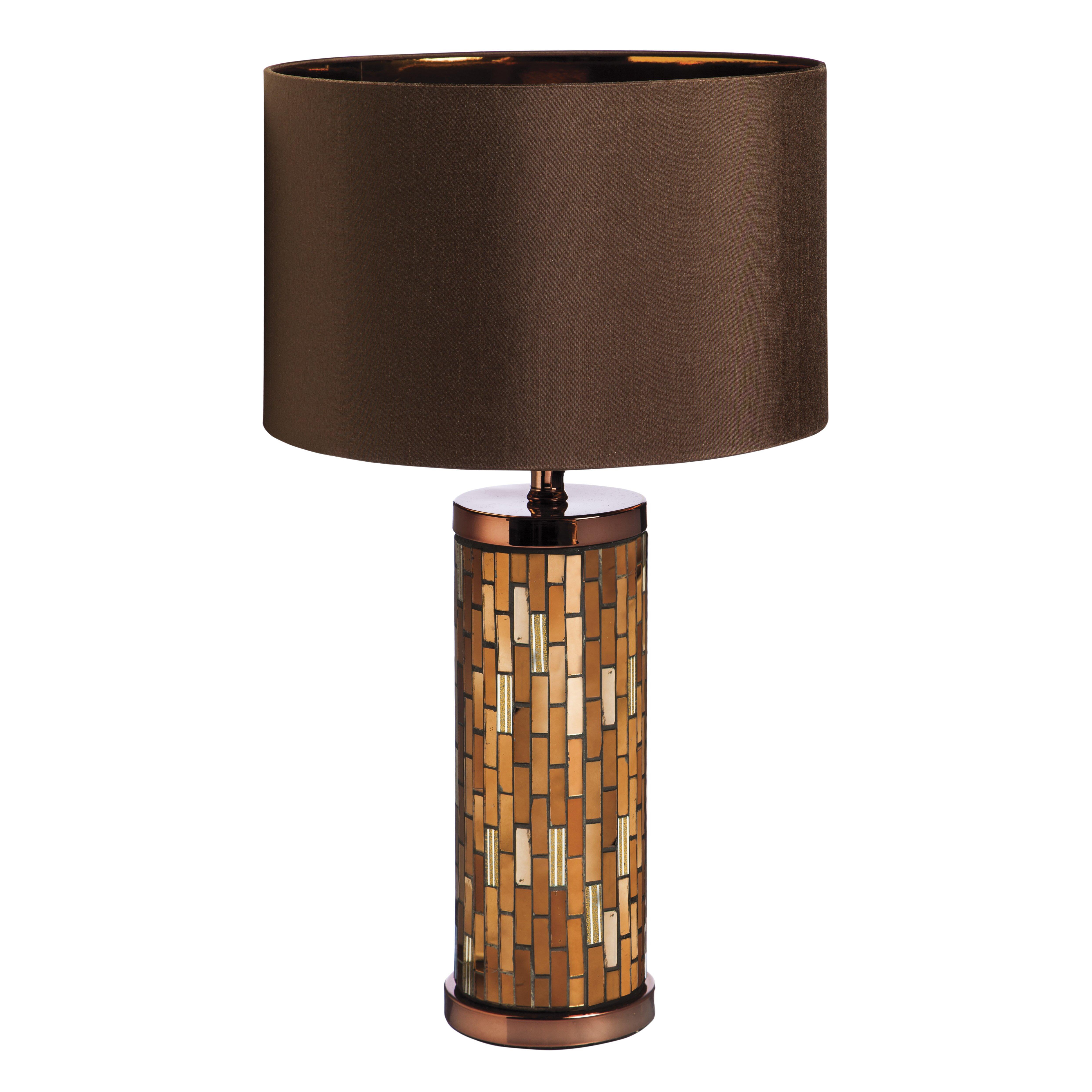 evergreen enterprises inc 24 h table lamp with drum. Black Bedroom Furniture Sets. Home Design Ideas
