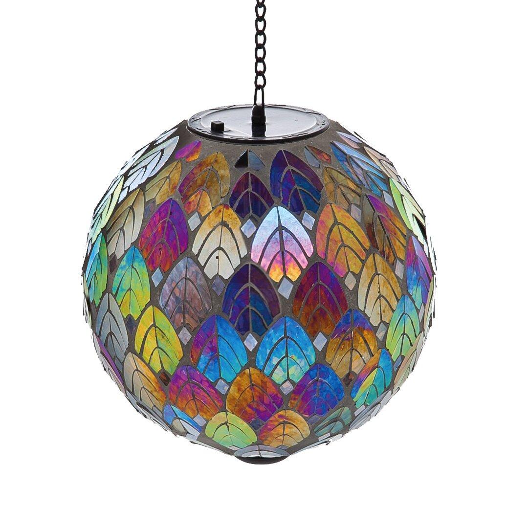 Evergreen Enterprises Inc Feathered Mosaic Hanging Solar