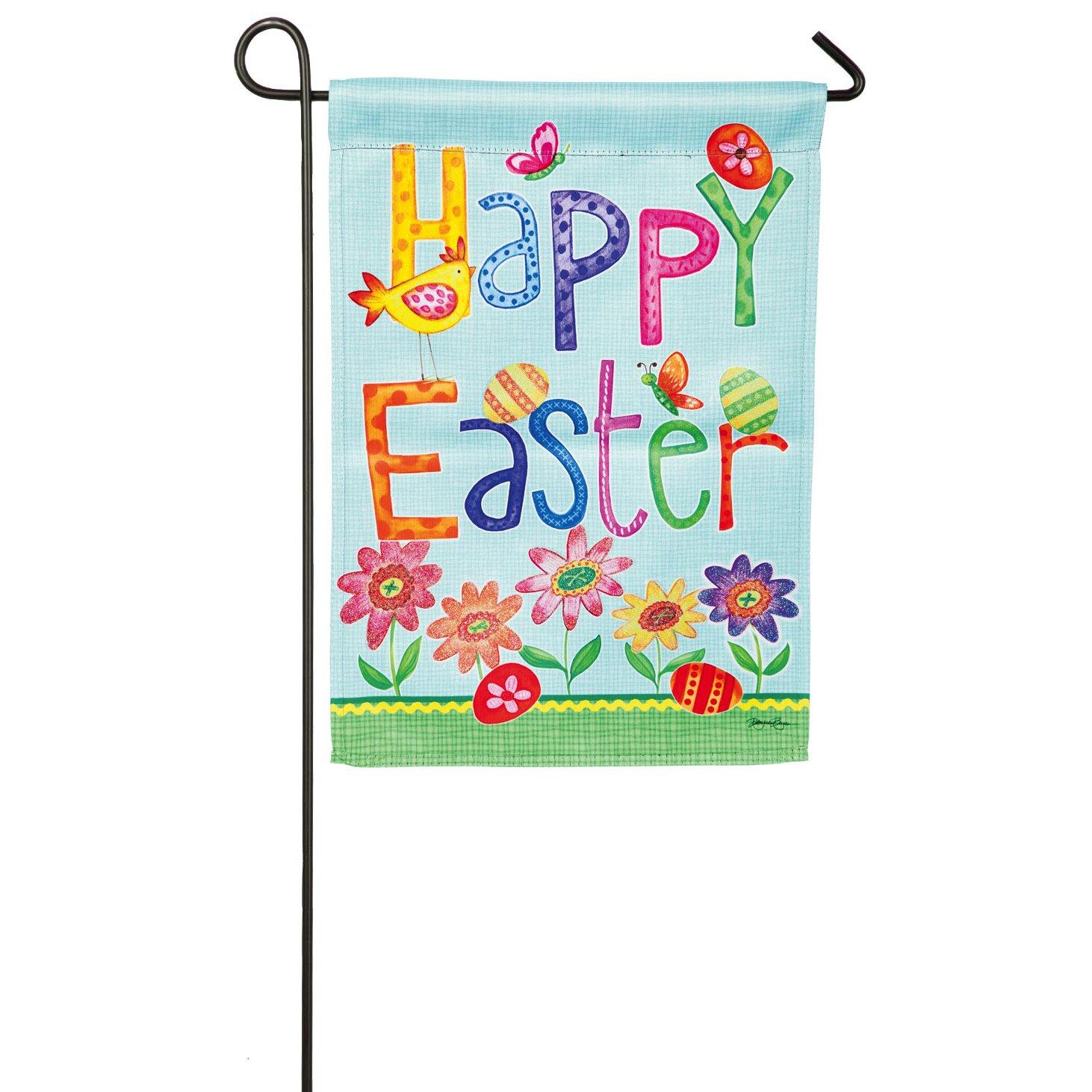 Evergreen Enterprises Inc Happy Easter Garden Flag Wayfair