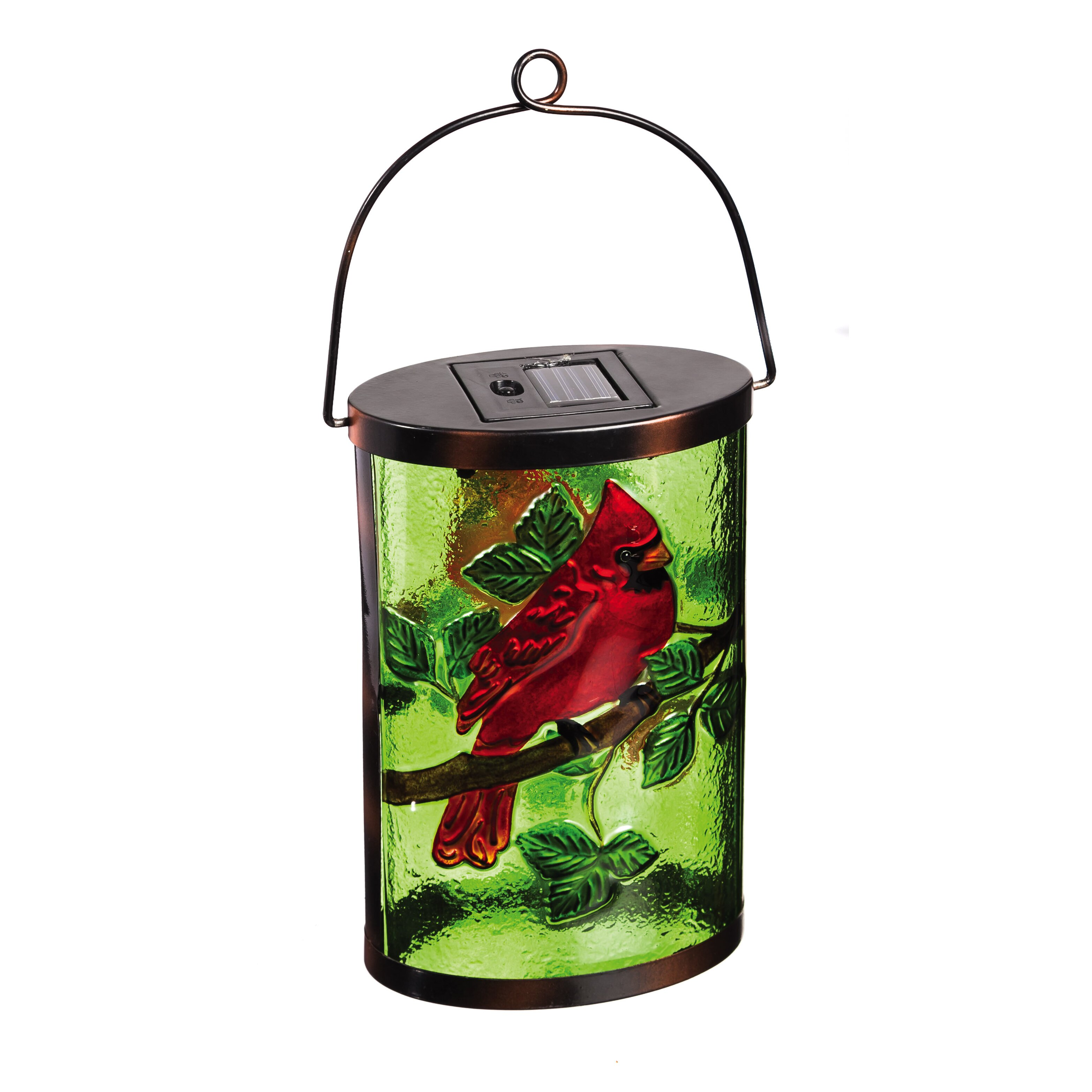 Evergreen Enterprises Inc Cardinal Solar Lantern & Reviews