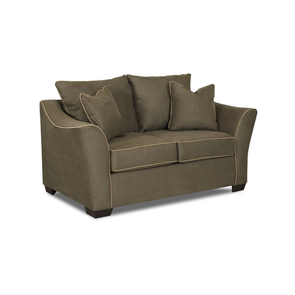 Klaussner Furniture Bunker Loveseat Reviews Wayfair