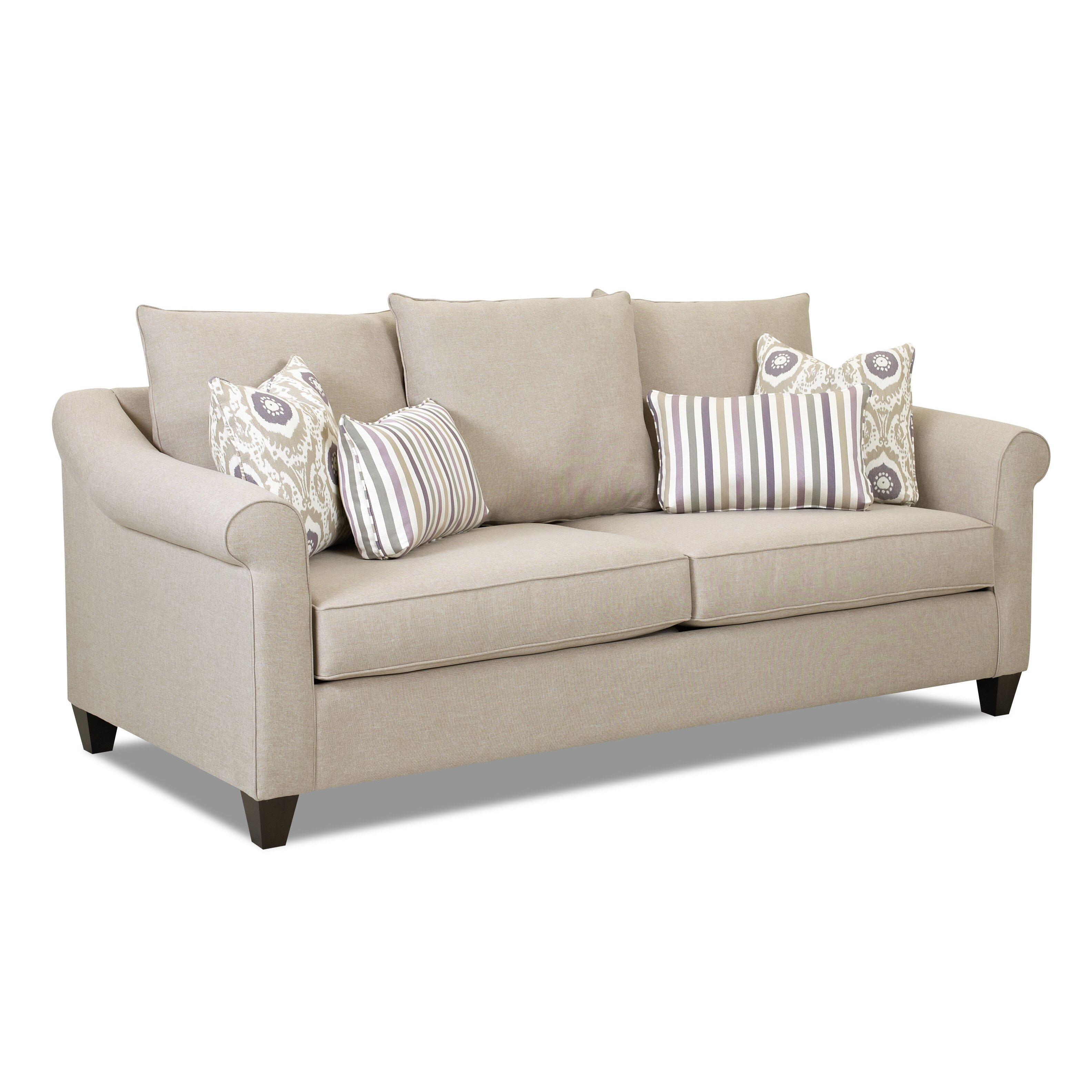 Klaussner furniture allen sofa reviews wayfair for Klaussner sofa