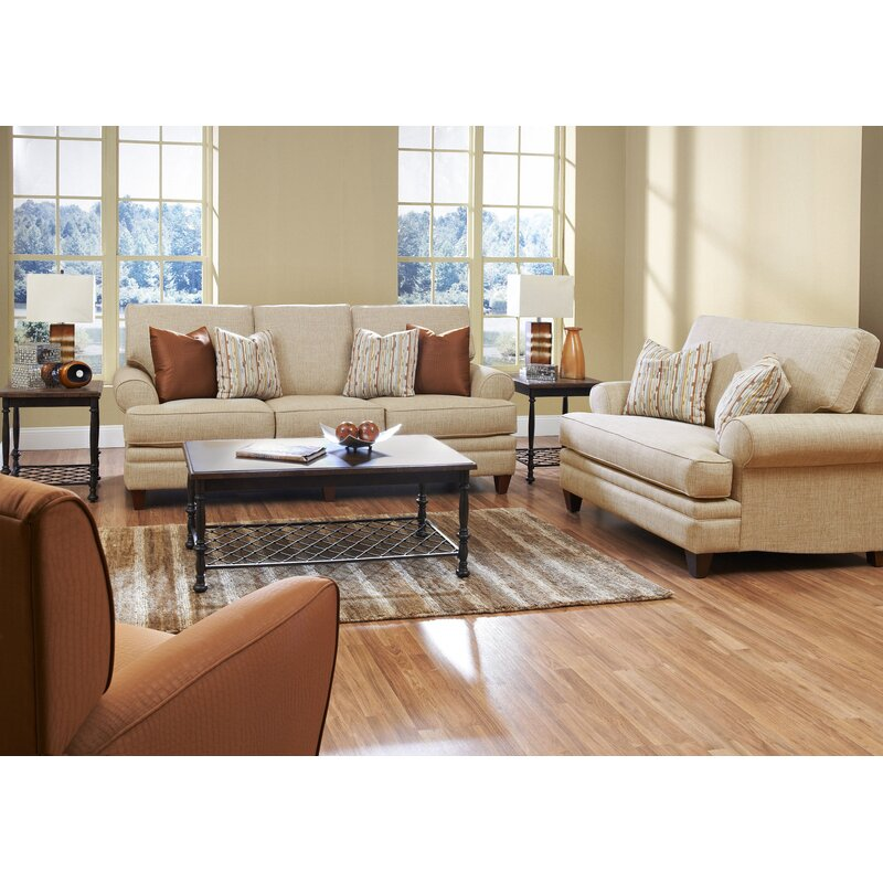 Living Room Low Furniture: Klaussner Furniture Clayton Living Room Collection