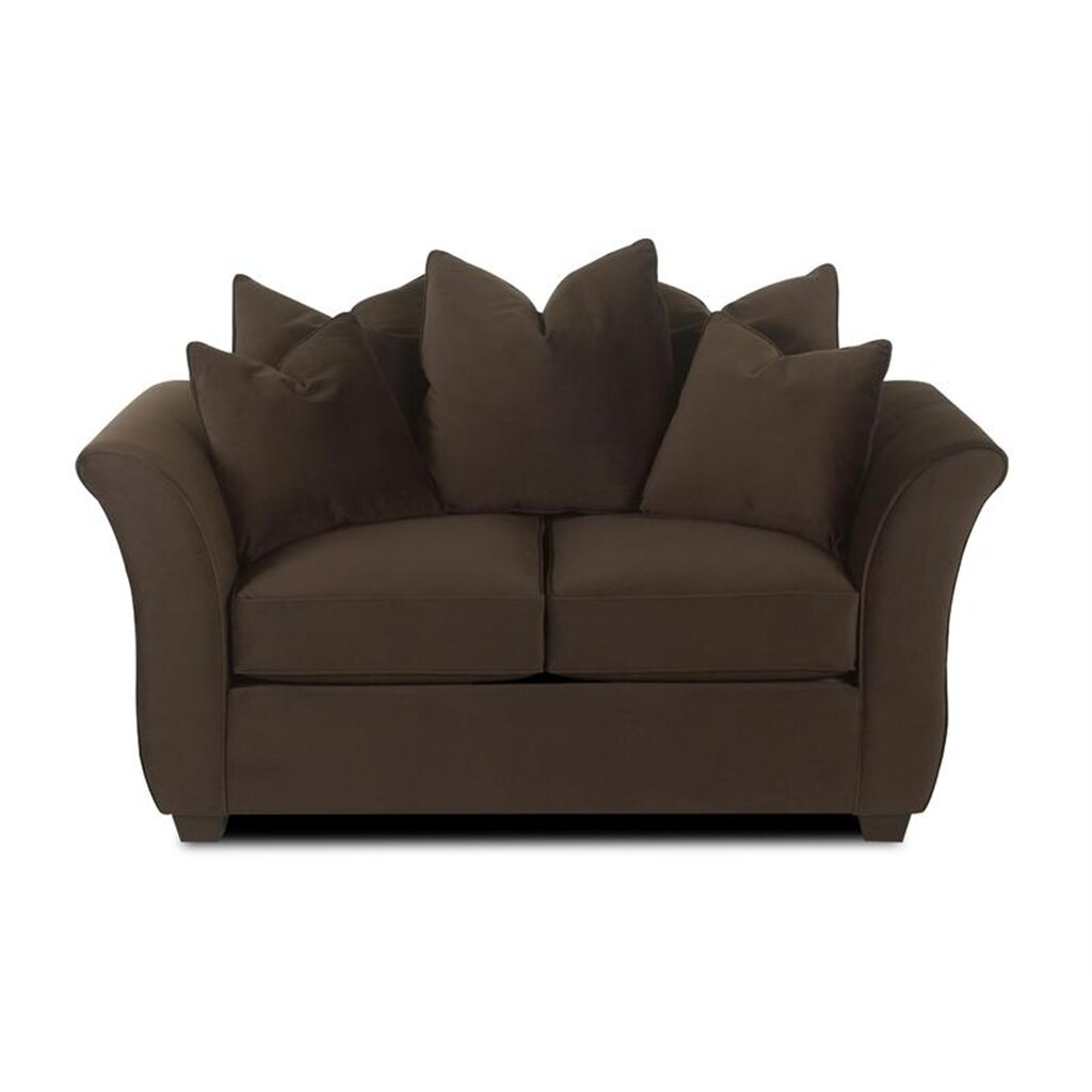 Klaussner Furniture Cedar Loveseat Reviews Wayfair