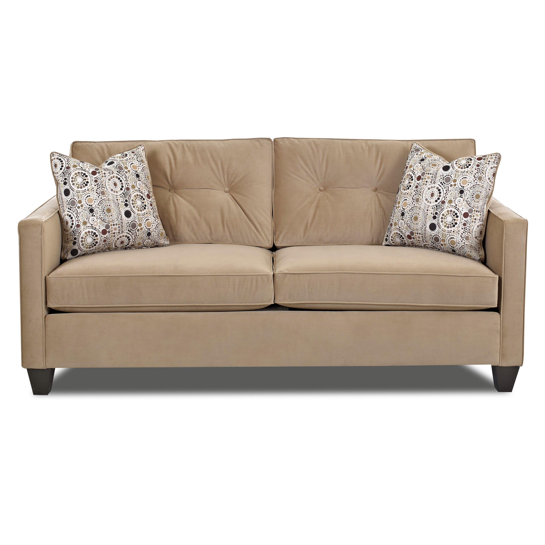 Klaussner Furniture Derry Sofa Amp Reviews Wayfair