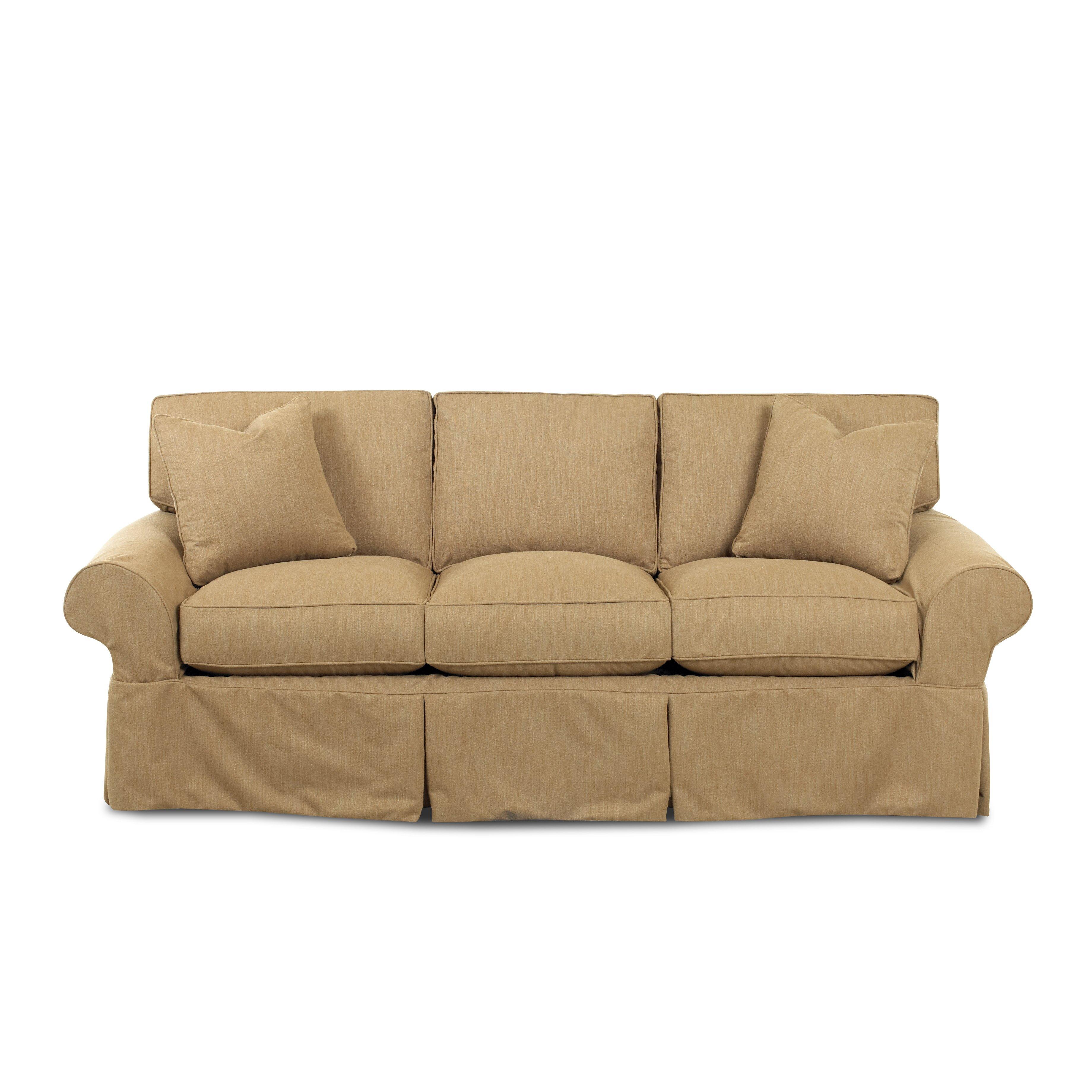 Klaussner furniture milton sofa wayfair for Klaussner sofa
