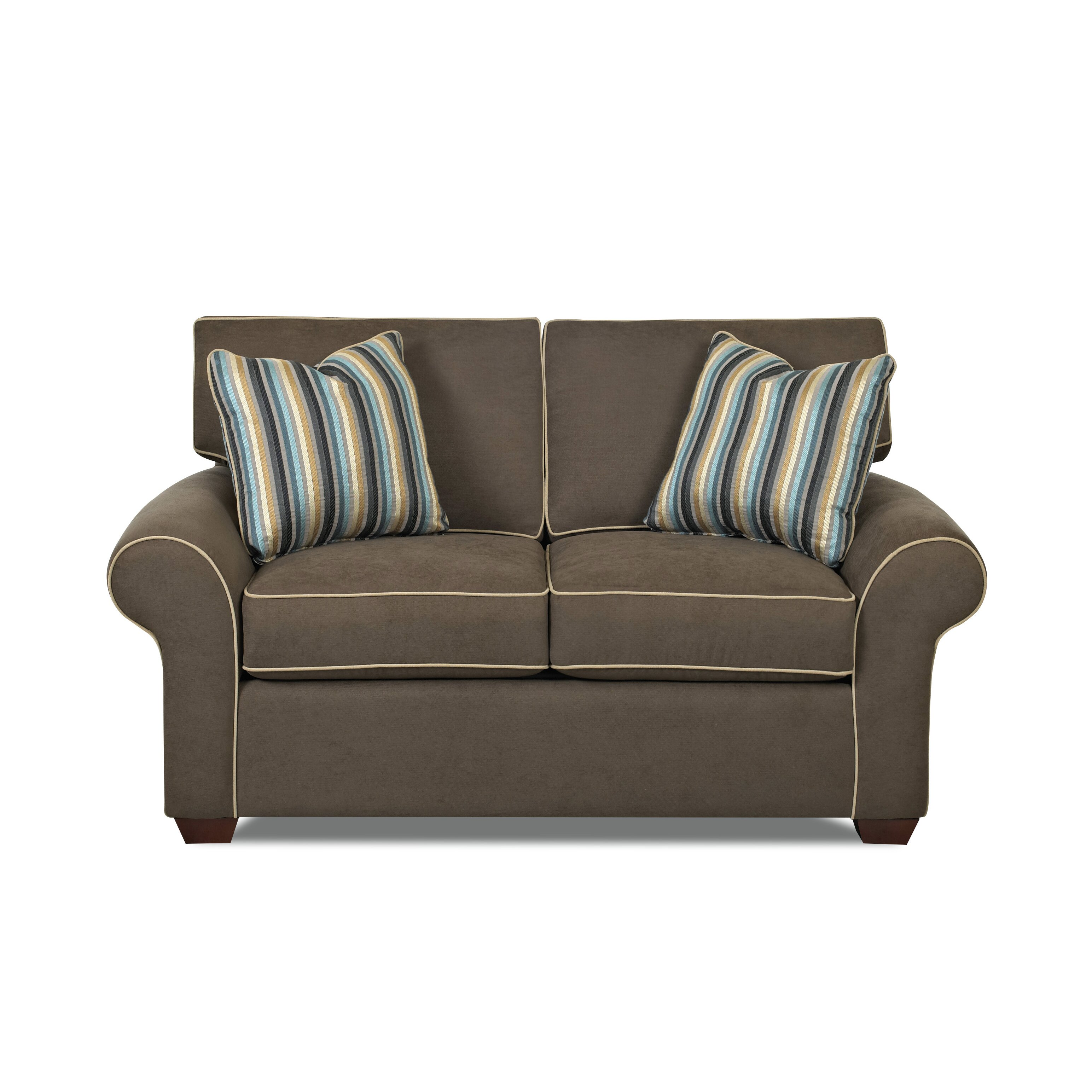 Klaussner Furniture Milton 66 Loveseat Reviews Wayfair