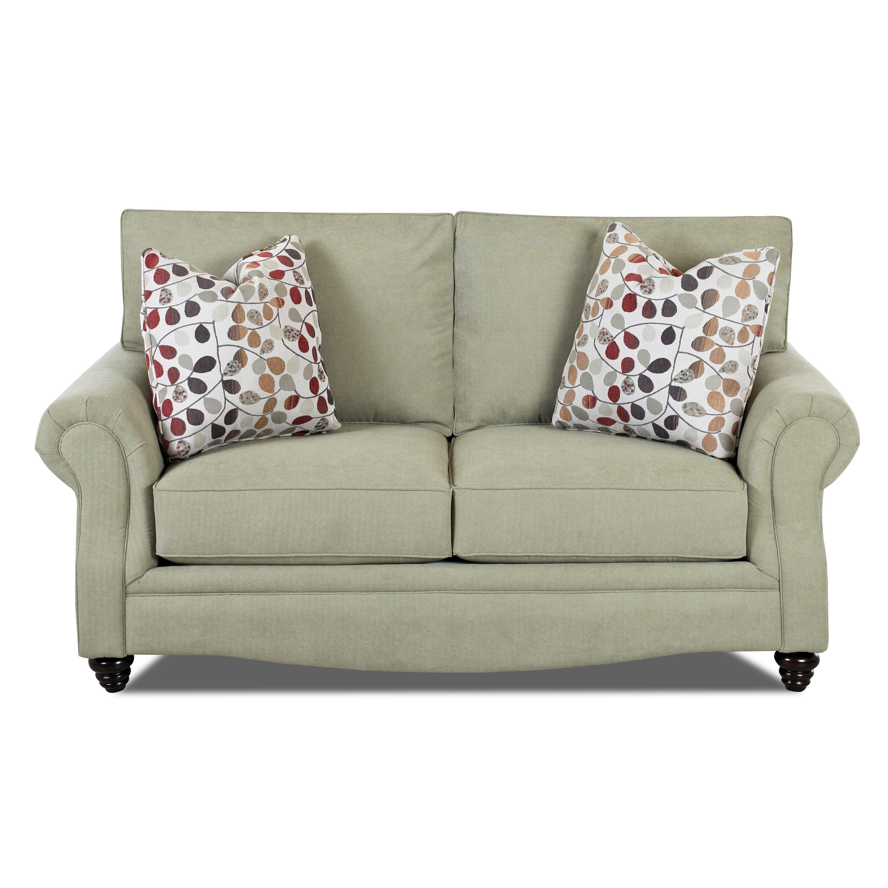 Klaussner furniture raymond sofa wayfair for Klaussner sofa
