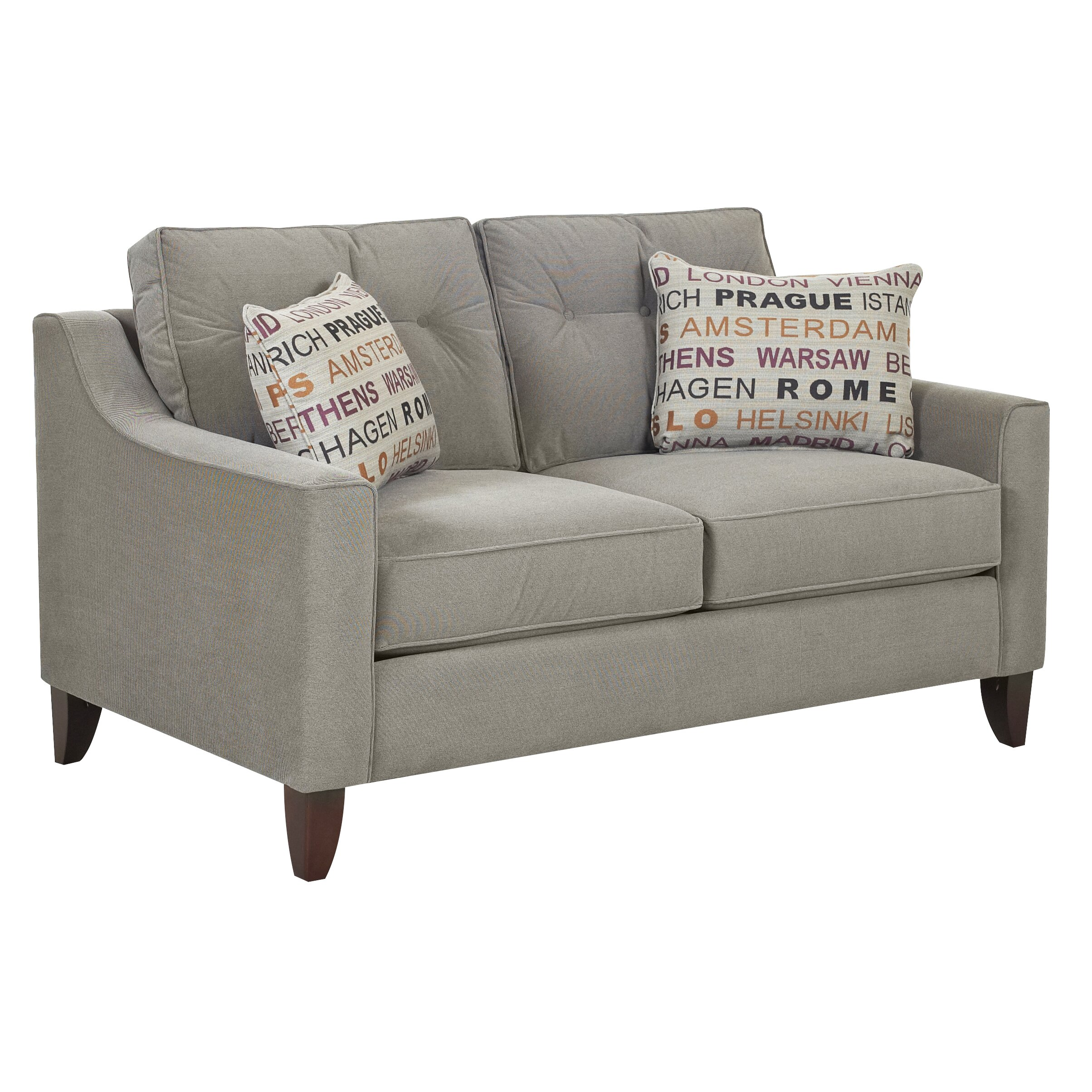 Klaussner Furniture Dartmouth Loveseat Wayfair