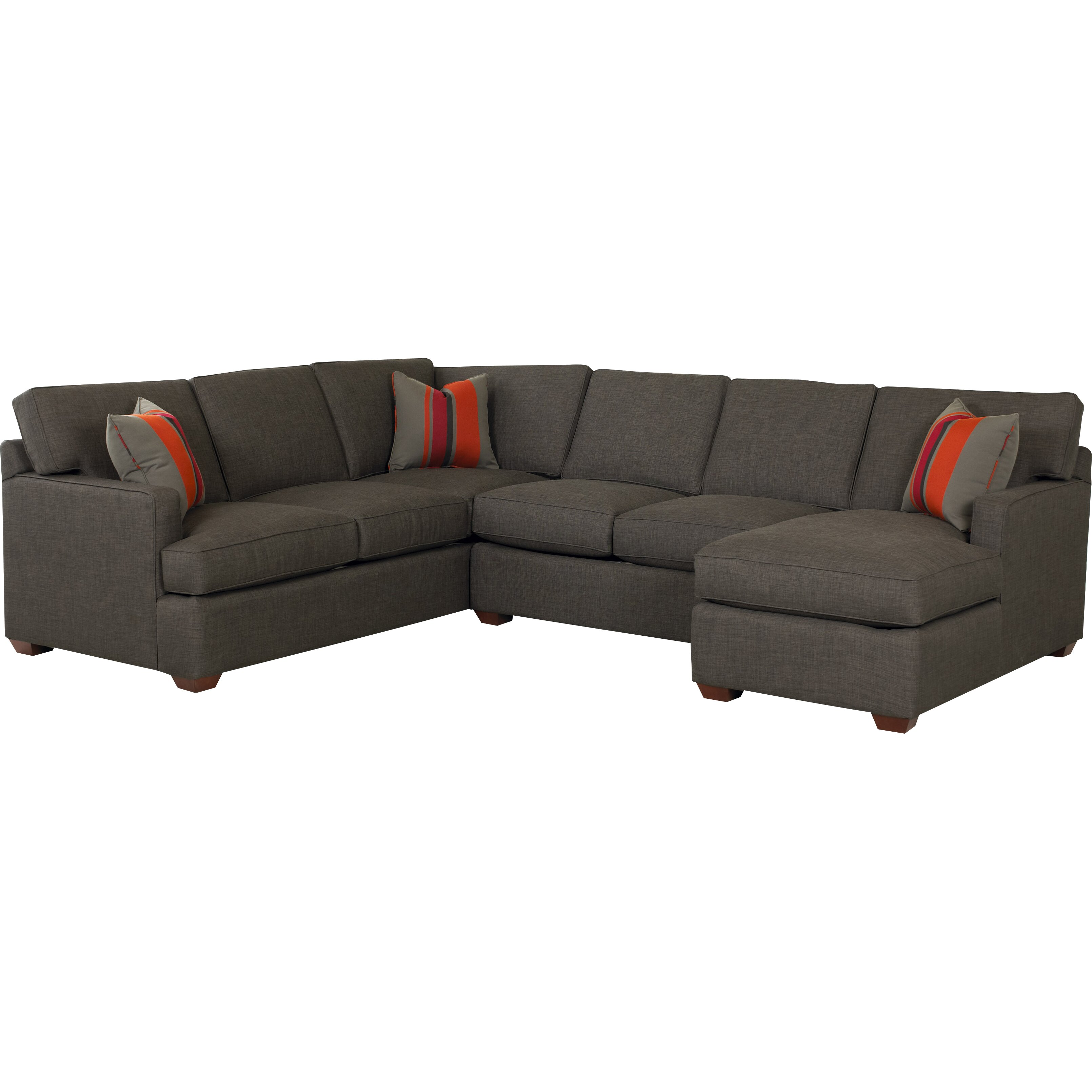 Klaussner Furniture Rory Sectional Reviews Wayfair