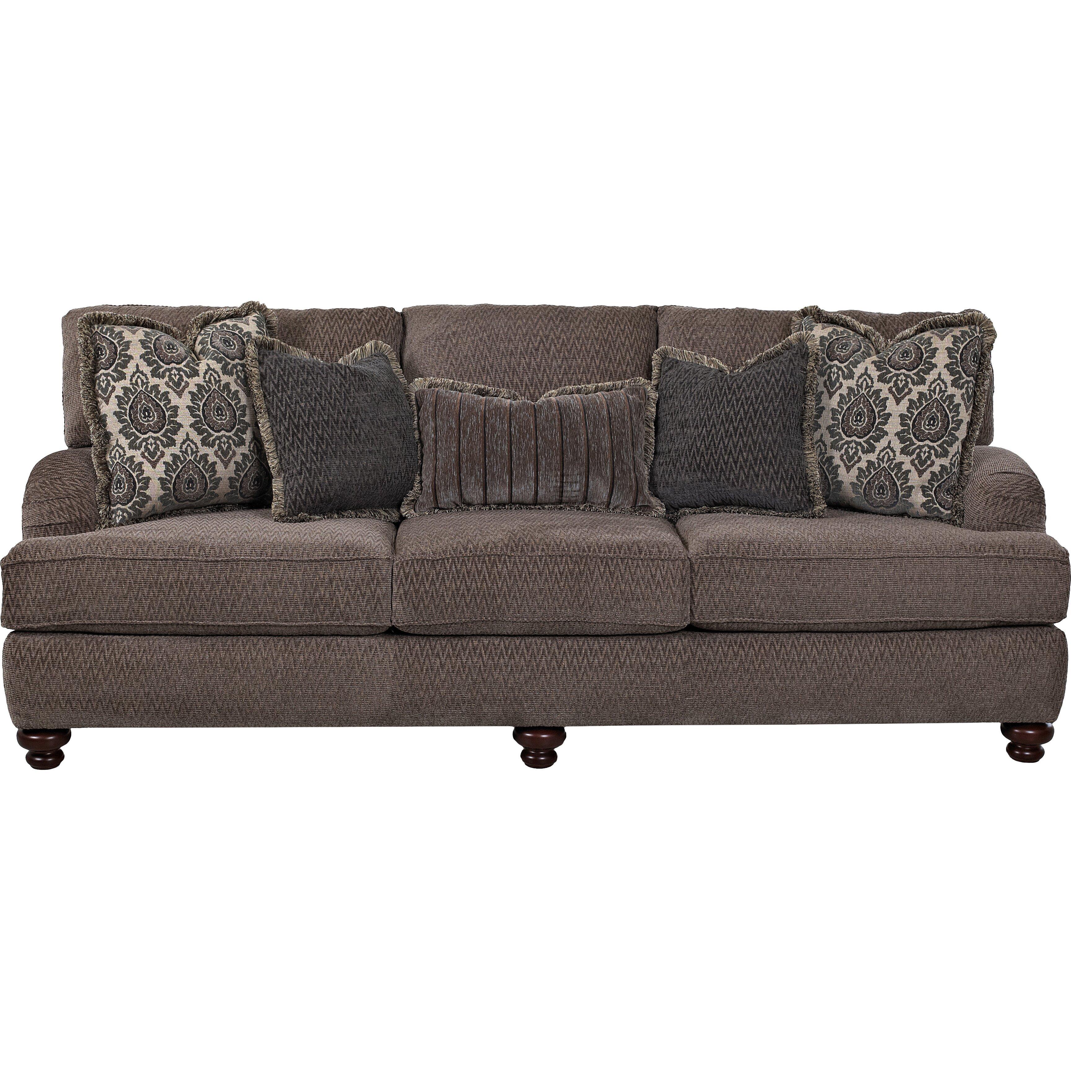 Klaussner furniture jack sofa wayfair for Klaussner sofa