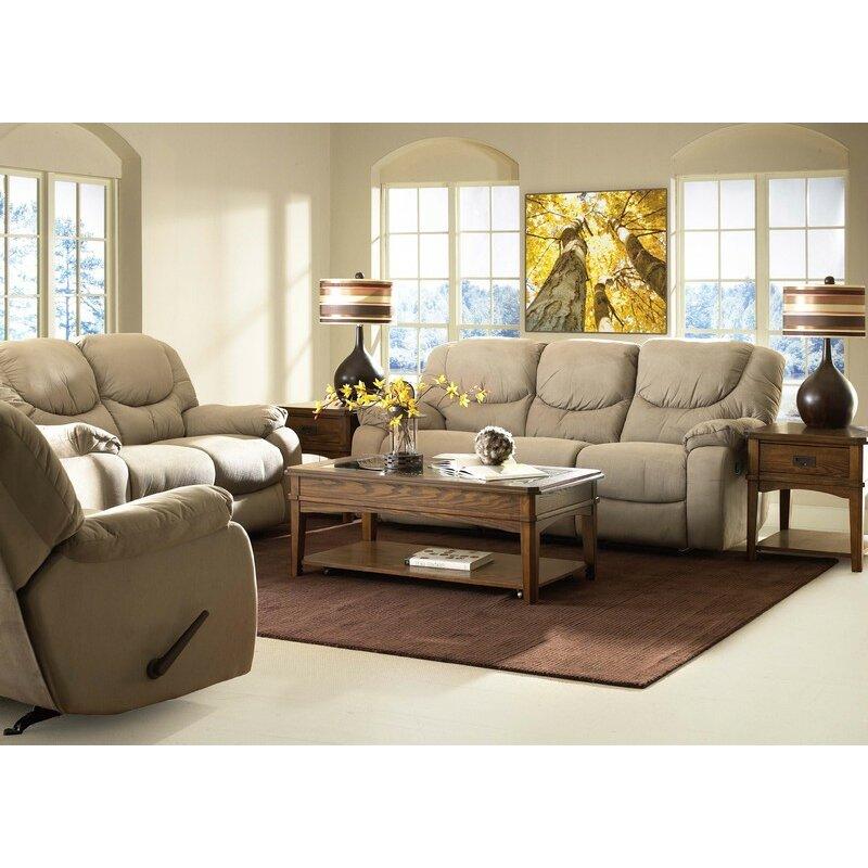 Klaussner Furniture Auburn Reclining Sofa & Reviews
