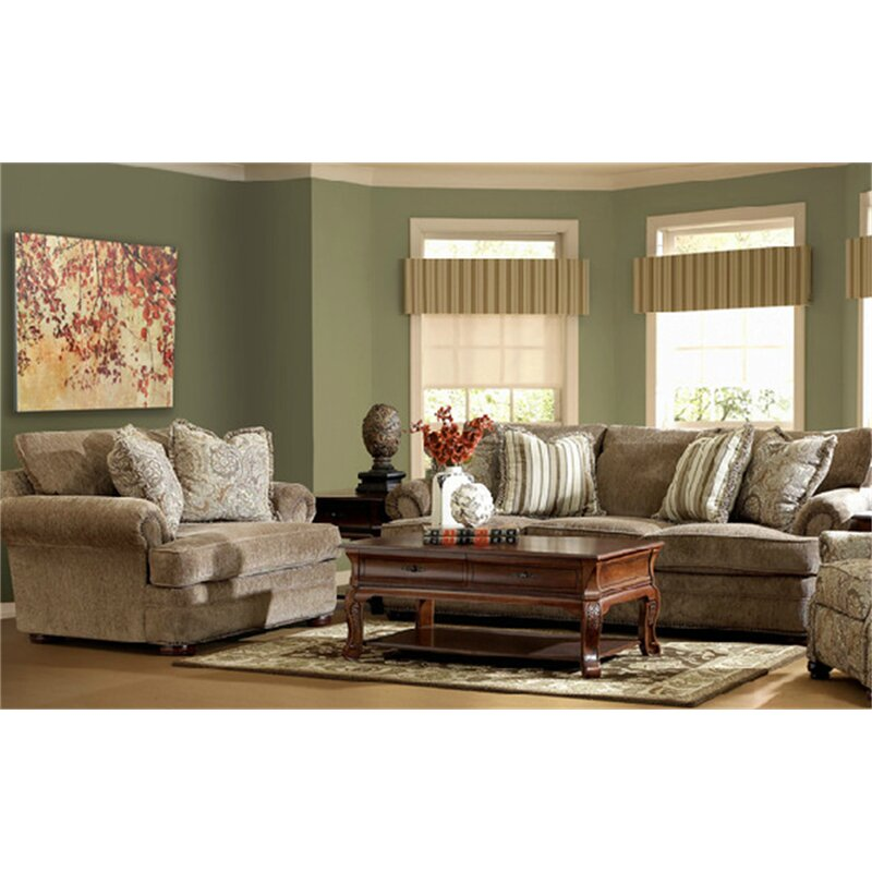 Klaussner Furniture Toby Living Room Collection Reviews Wayfair