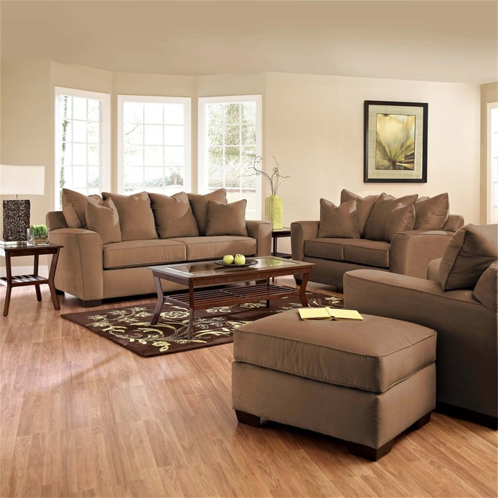 Furniture Living Room Chairs: Klaussner Furniture Liam Living Room Collection & Reviews