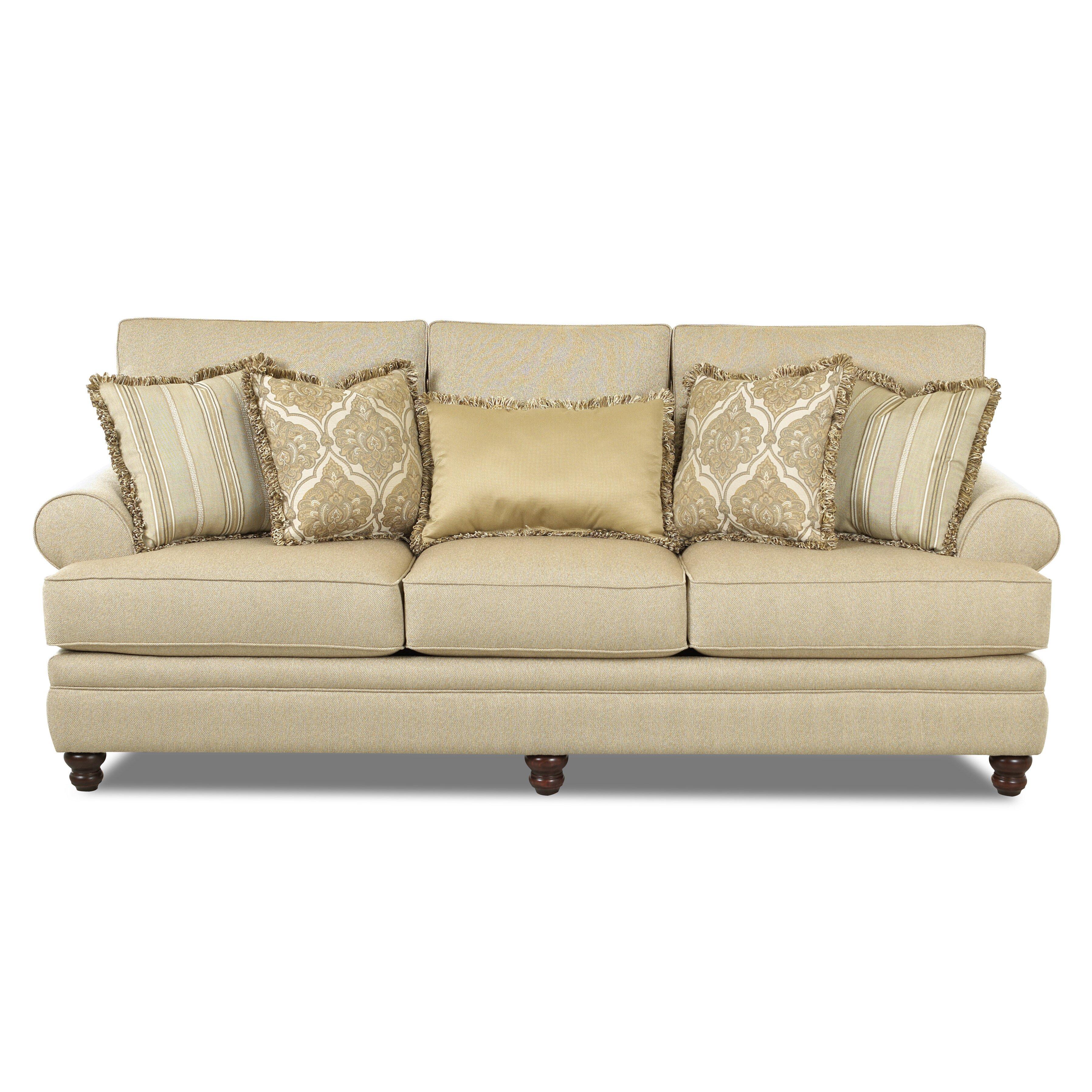 Klaussner Sofa klaussner furniture liam sofa reviews wayfair ...